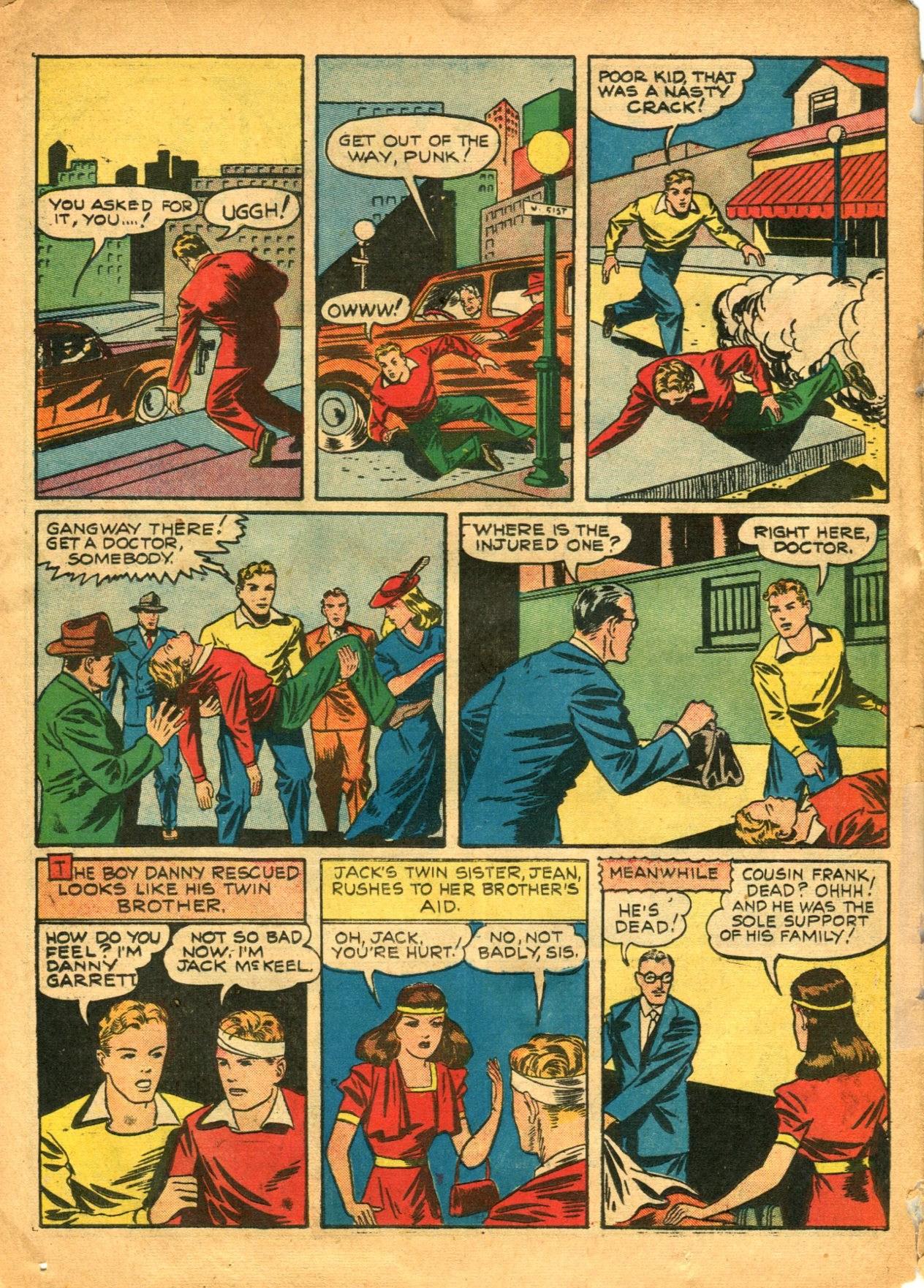 Read online Shadow Comics comic -  Issue #12 - 42
