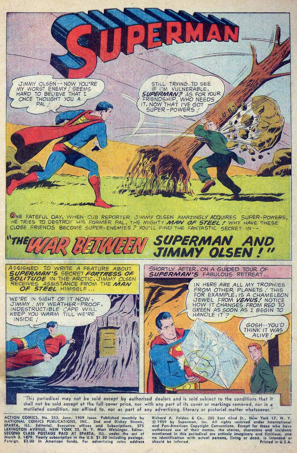 Read online Action Comics (1938) comic -  Issue #253 - 3