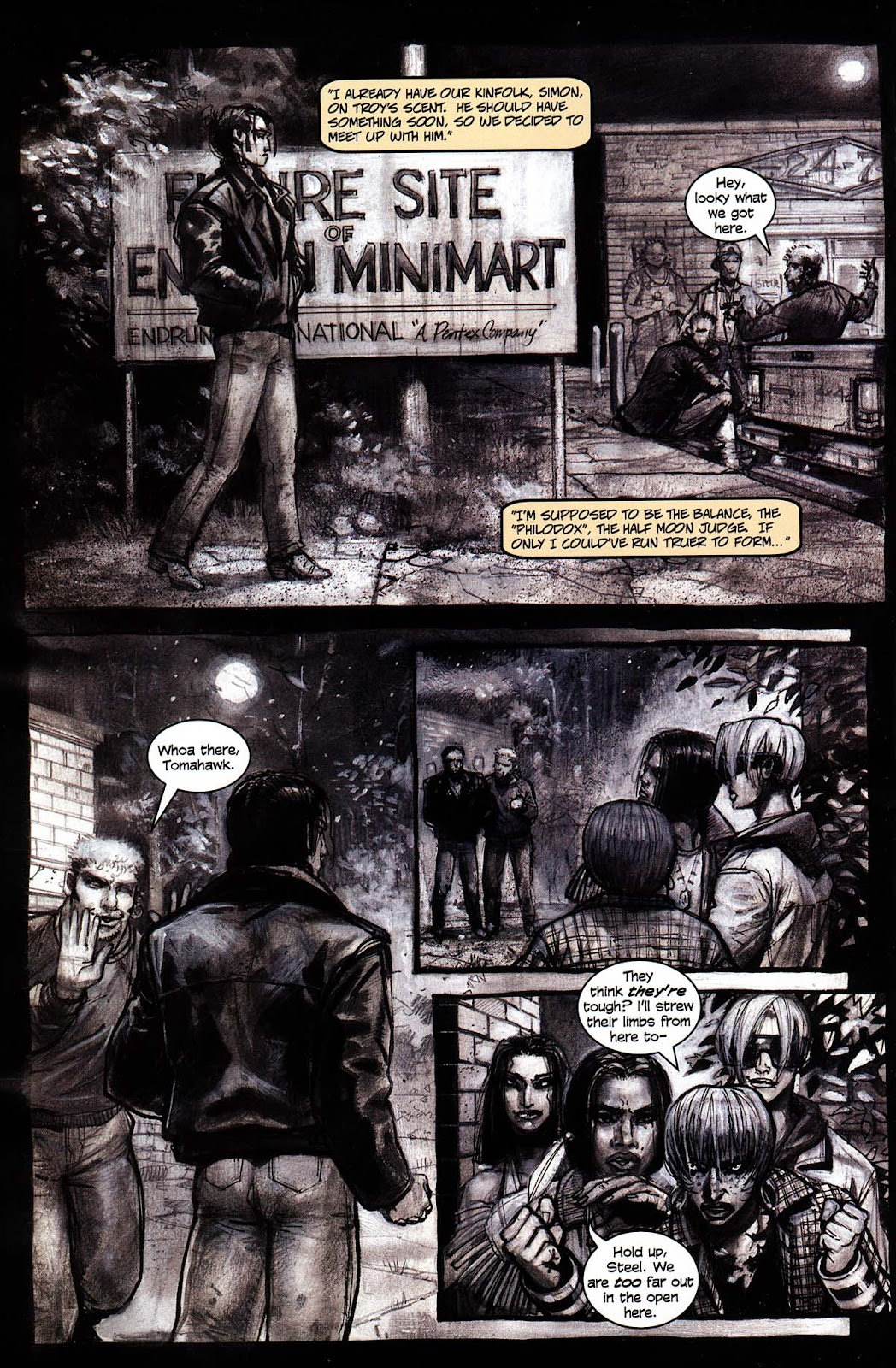 Read online Werewolf the Apocalypse comic -  Issue # Black Furies - 12