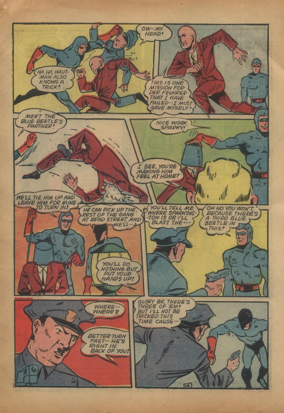 The Blue Beetle issue 15 - Page 33
