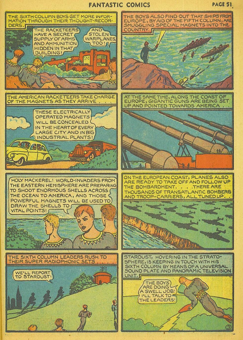 Read online Fantastic Comics comic -  Issue #15 - 46