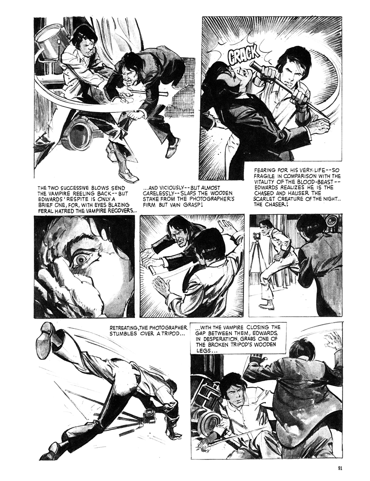 Read online Eerie Archives comic -  Issue # TPB 8 - 92