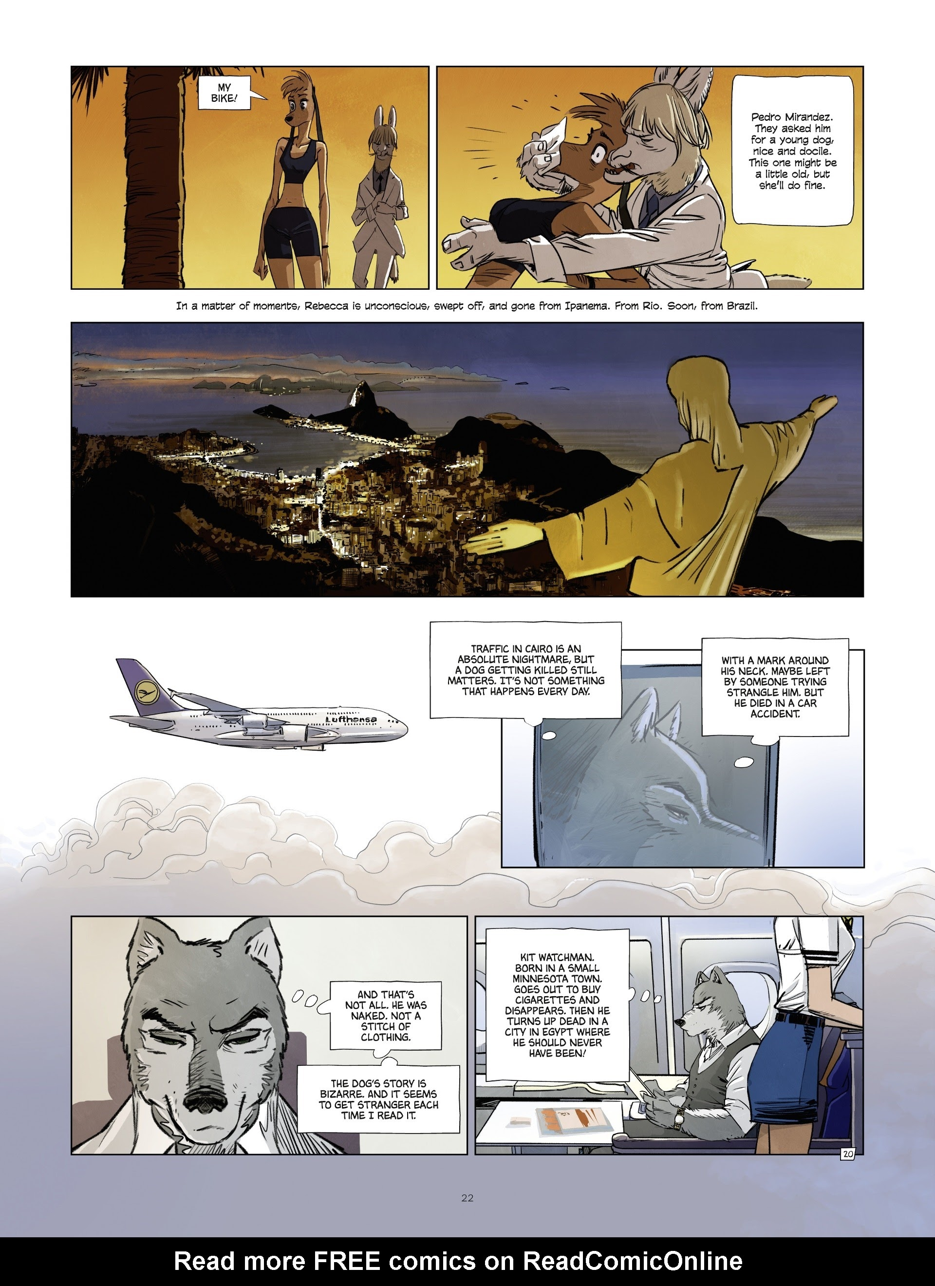 Read online Jack Wolfgang comic -  Issue #3 - 24