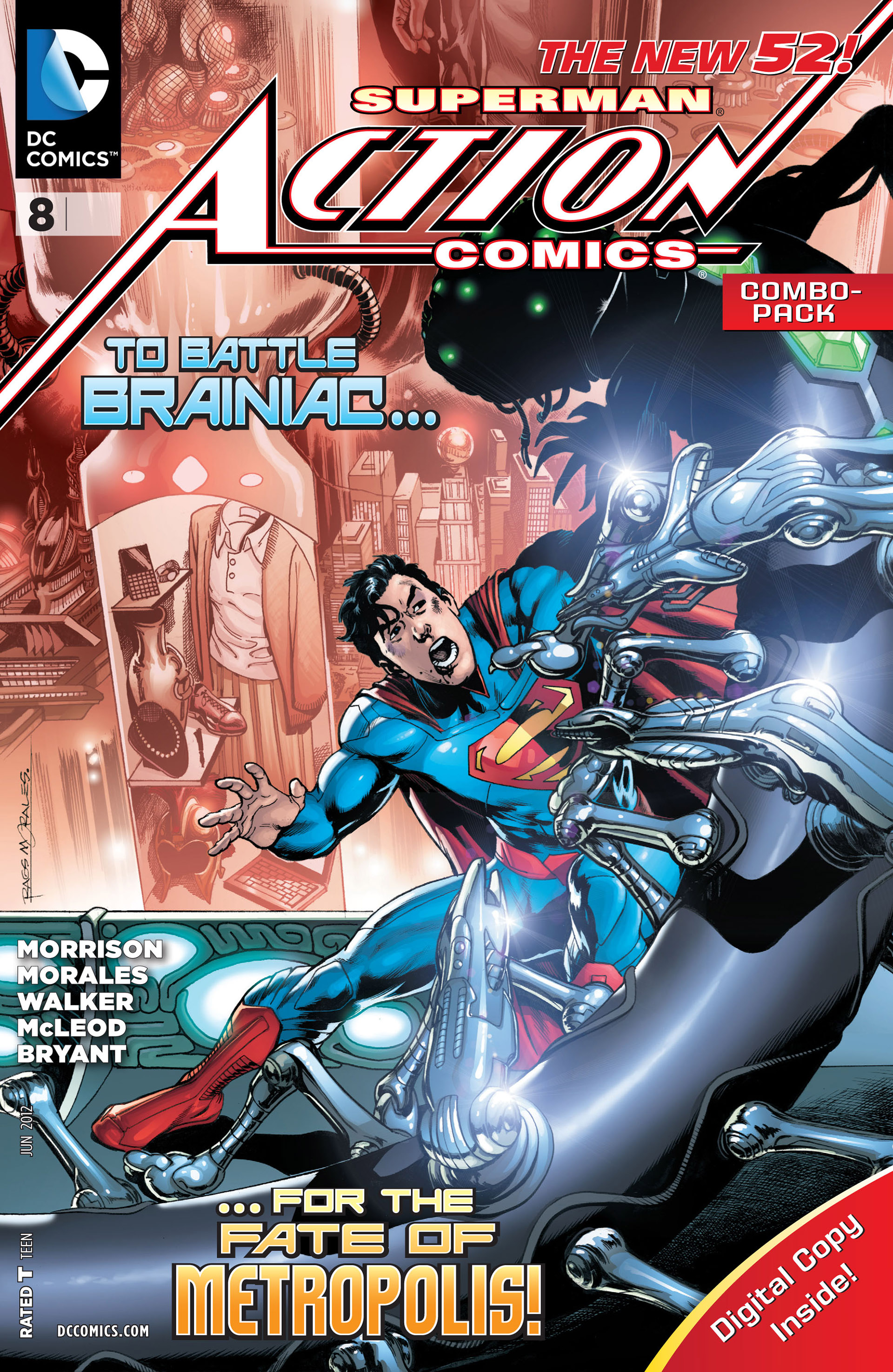 Read online Action Comics (2011) comic -  Issue #8 - 4