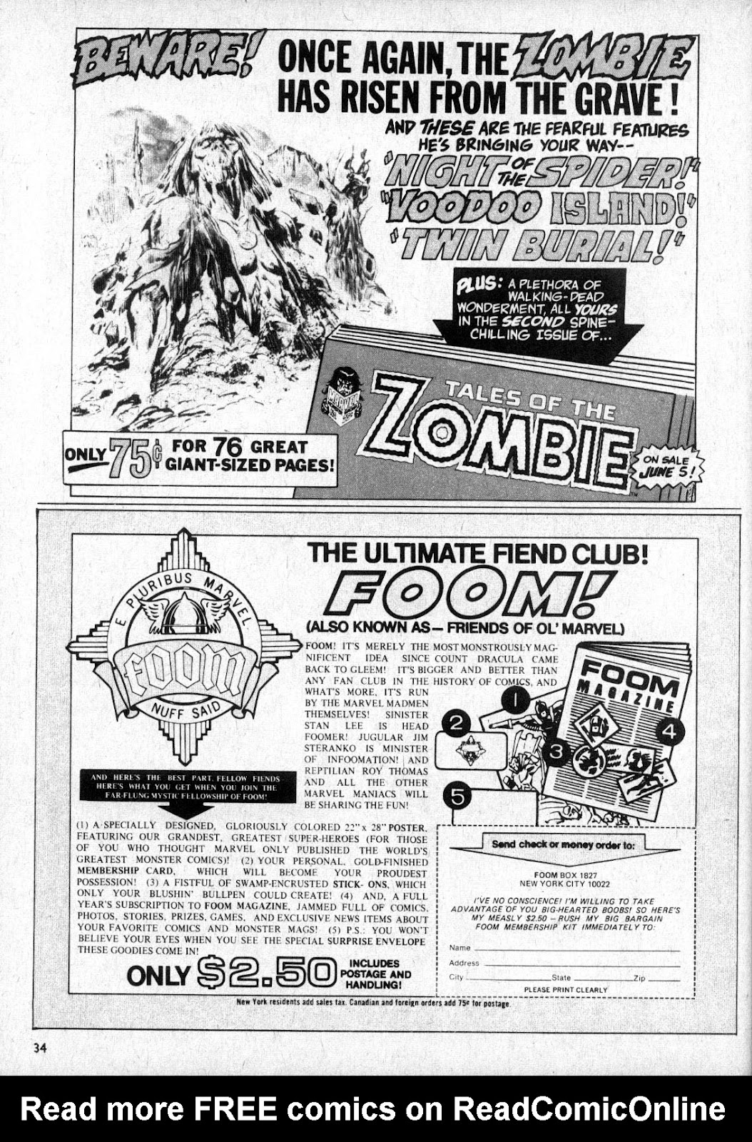 Monsters Unleashed (1973) issue 2 - Page 34