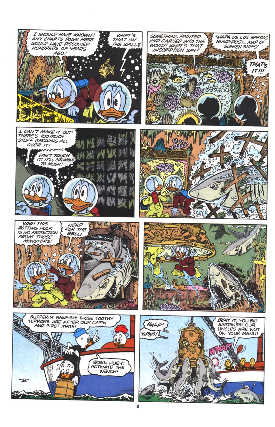 Read online Uncle Scrooge (1953) comic -  Issue #263 - 9