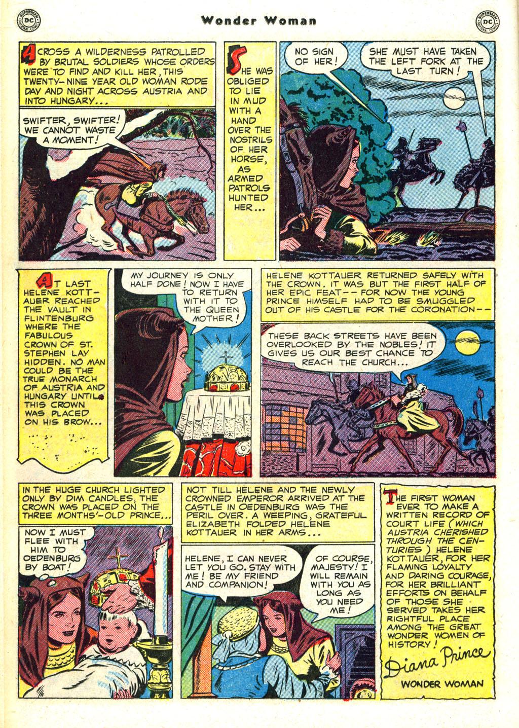 Read online Wonder Woman (1942) comic -  Issue #45 - 24
