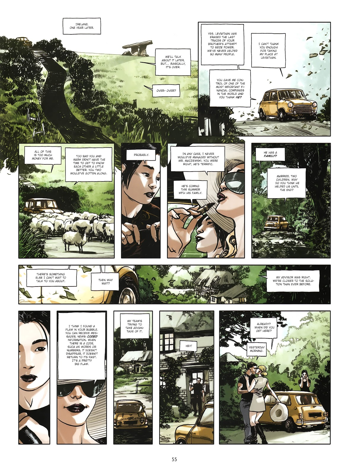 Read online Cutting Edge (2013) comic -  Issue #4 - 42