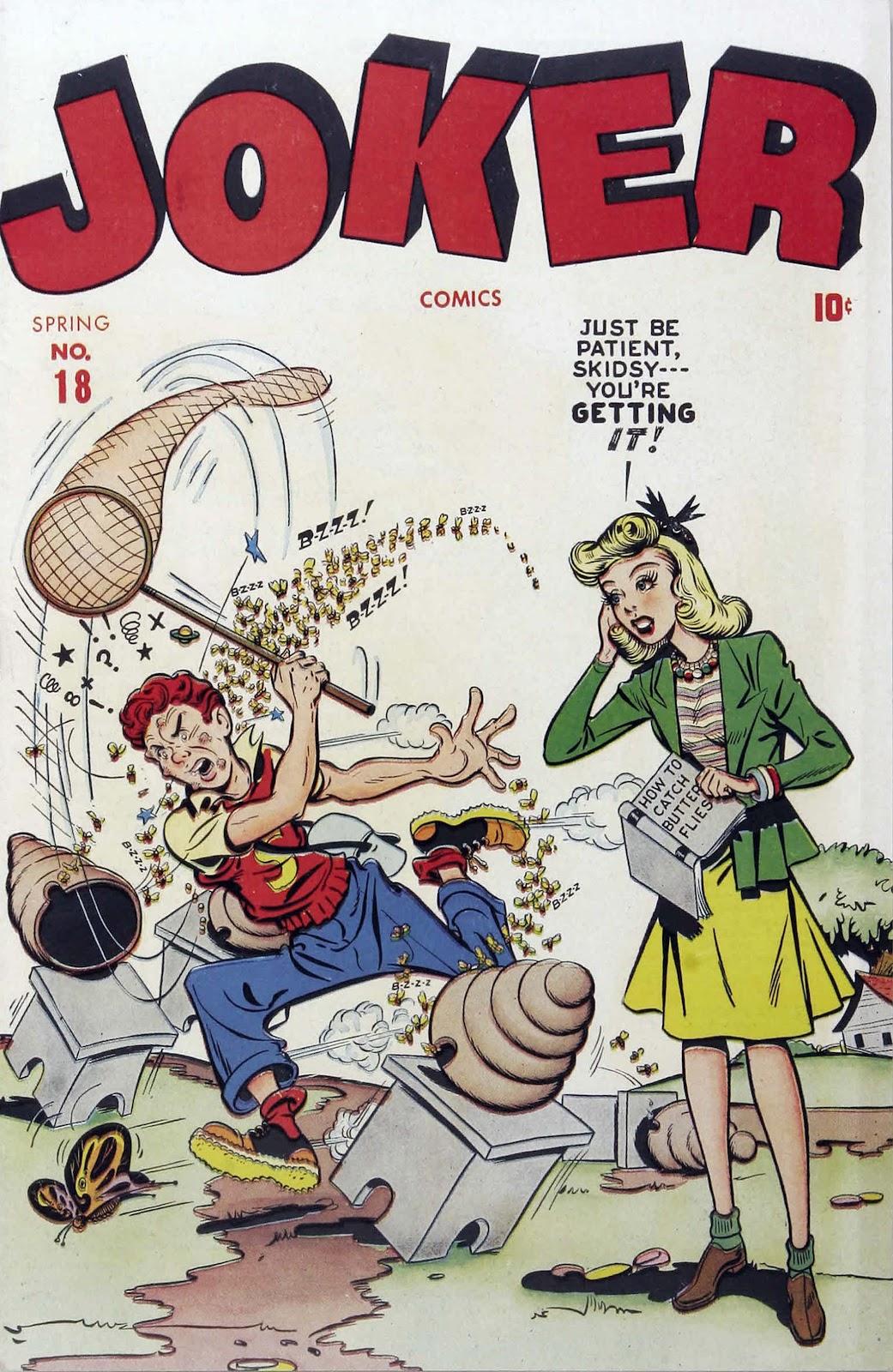 Read online Joker Comics comic -  Issue #18 - 1