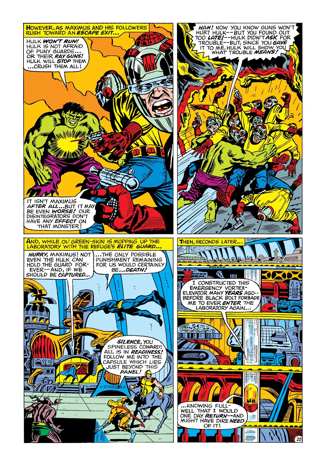 Read online Marvel Masterworks: The Incredible Hulk comic -  Issue # TPB 4 (Part 2) - 53