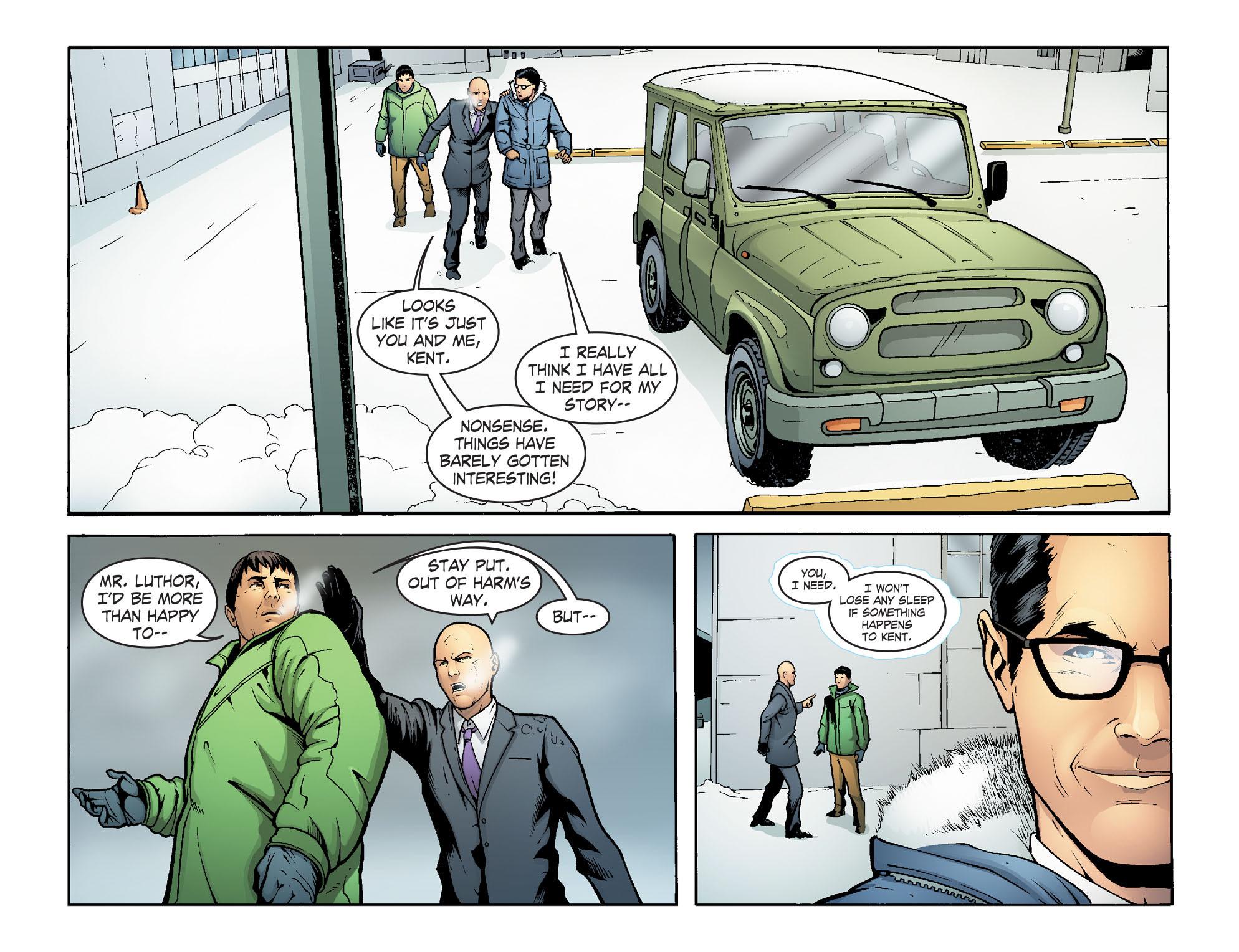 Read online Smallville: Alien comic -  Issue #7 - 14