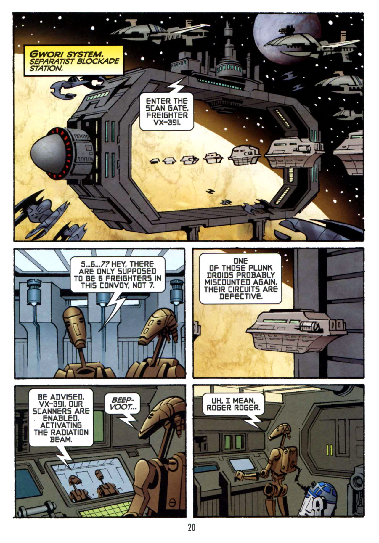 Read online Star Wars: The Clone Wars - Shipyards of Doom comic -  Issue # Full - 19
