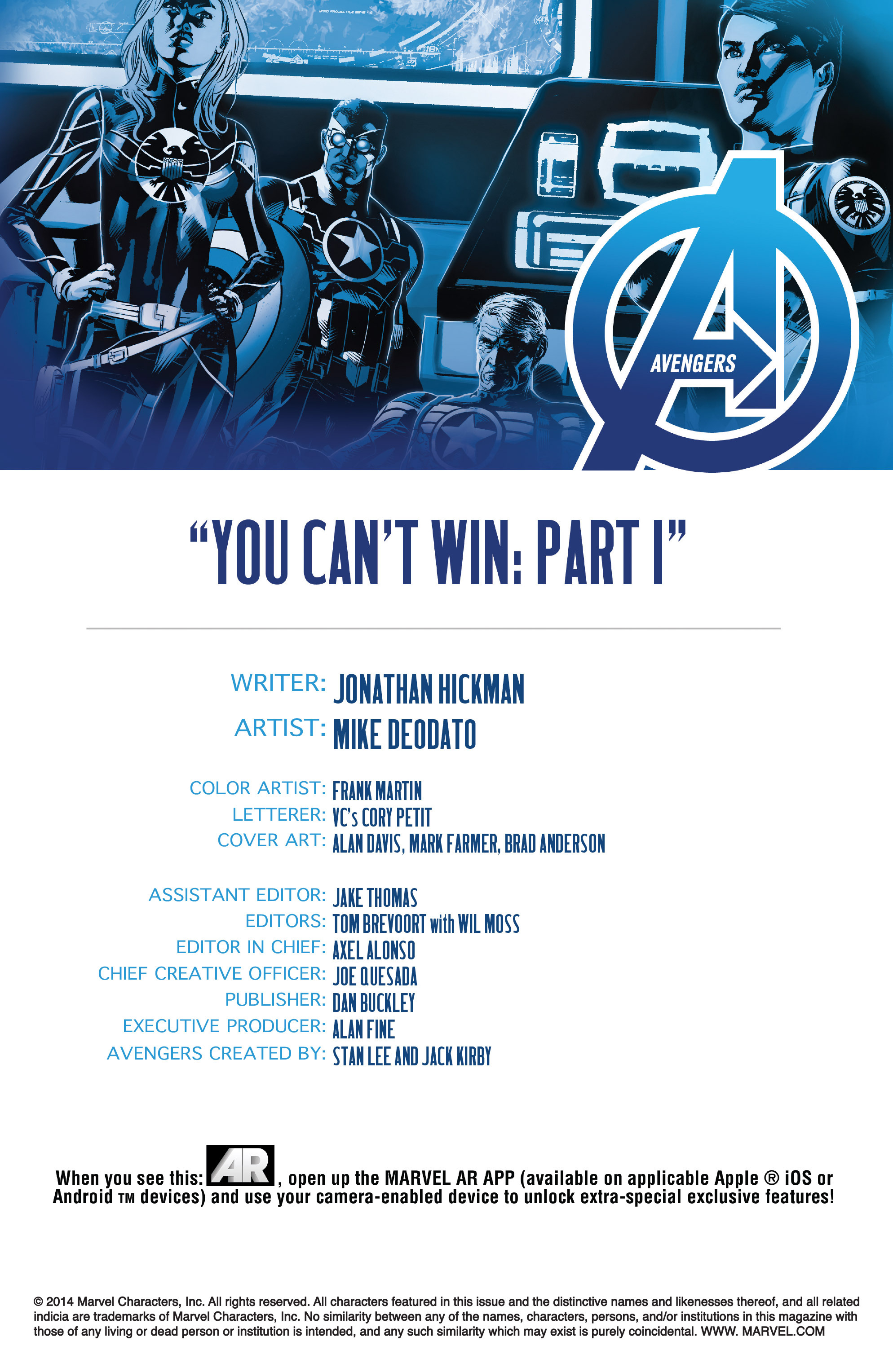 Read online Avengers (2013) comic -  Issue #39 - 4