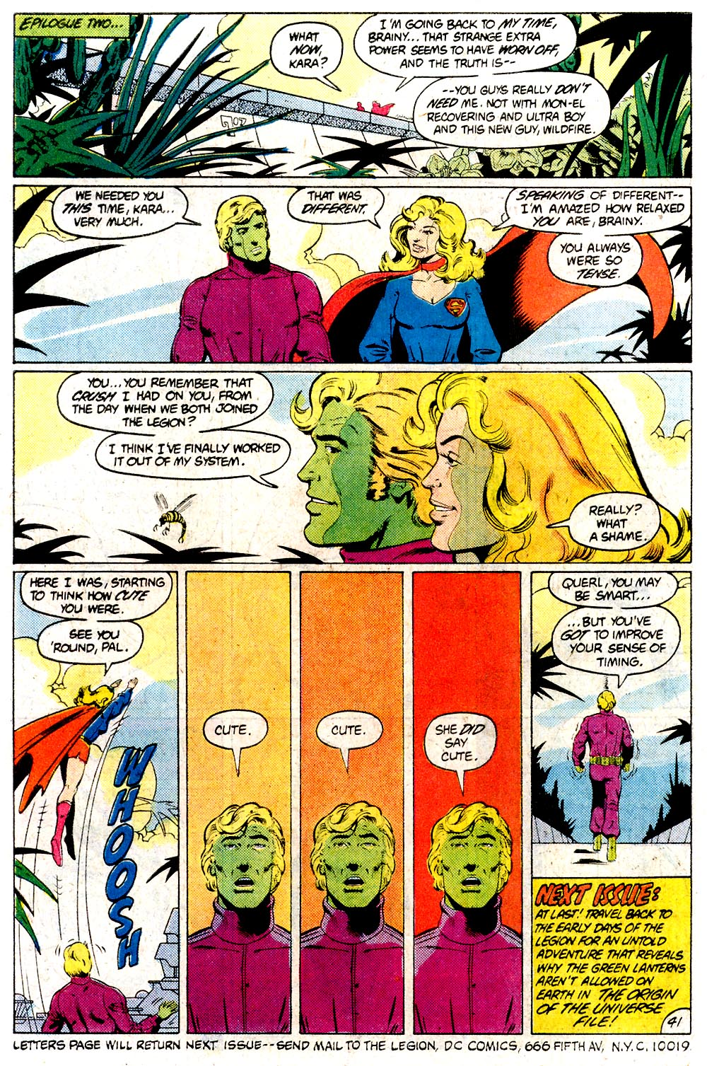 Legion of Super-Heroes (1980) 294 Page 40