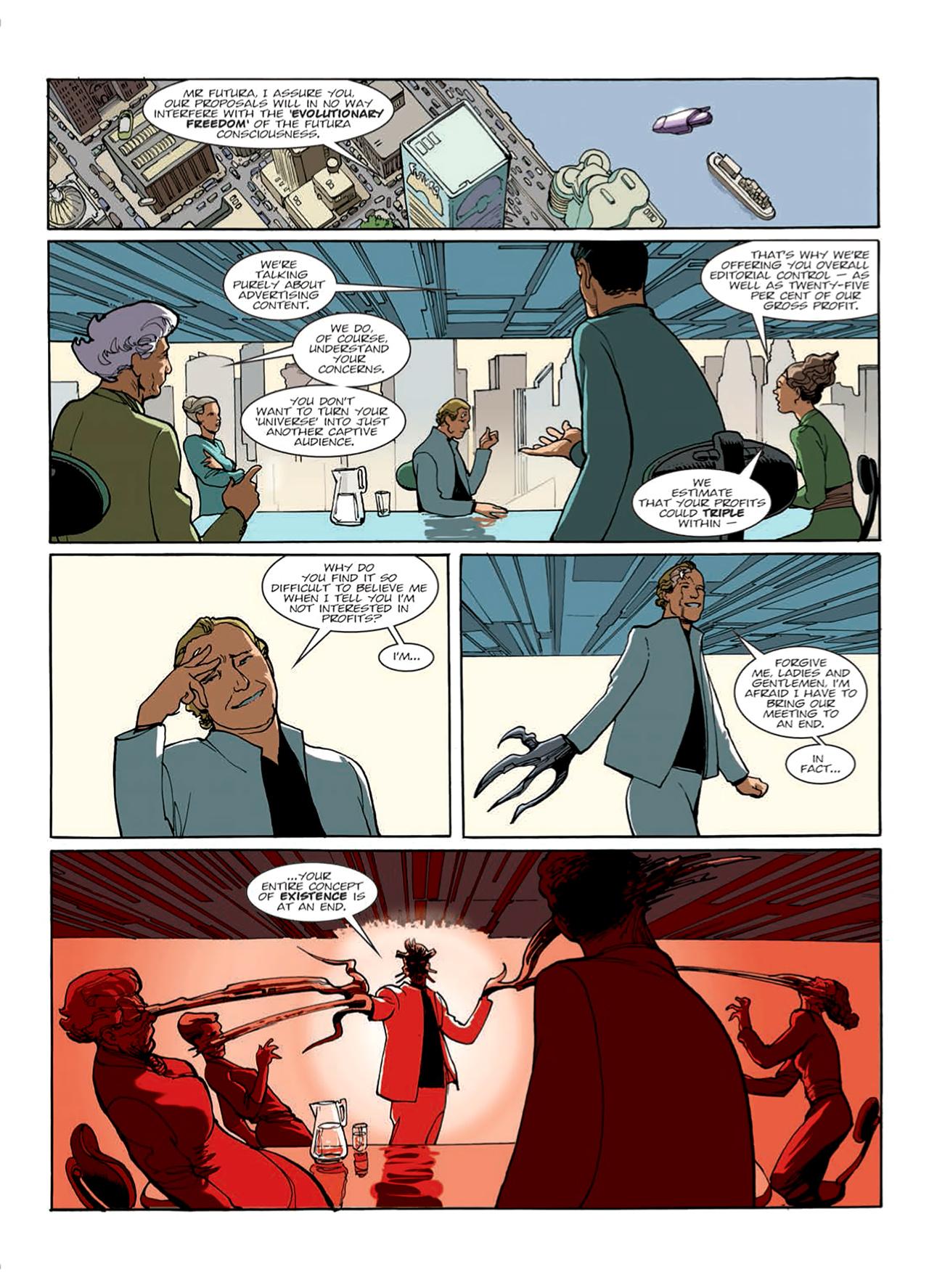 Read online Nikolai Dante comic -  Issue # TPB 9 - 48