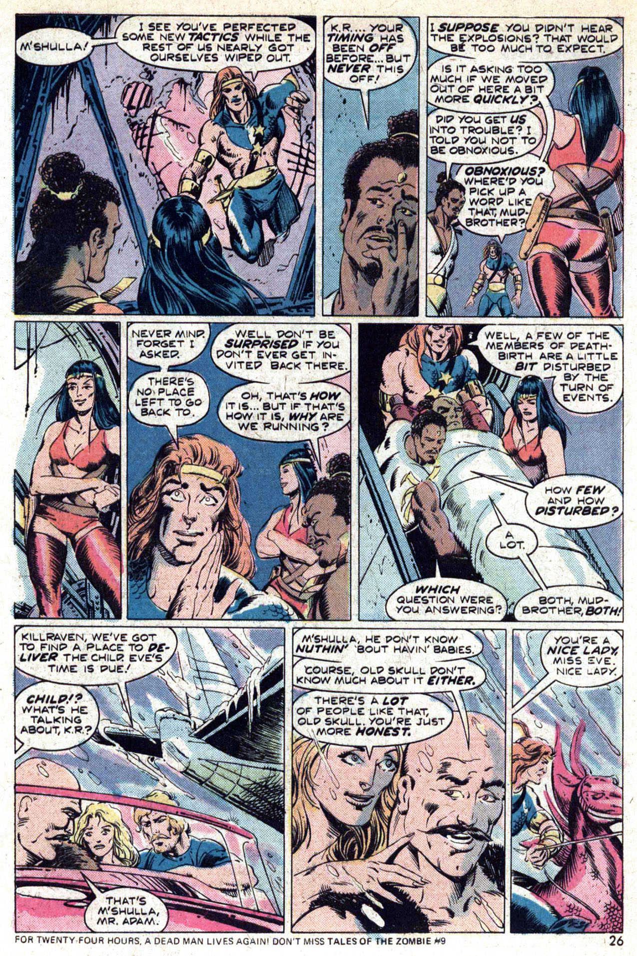 Read online Amazing Adventures (1970) comic -  Issue #29 - 28