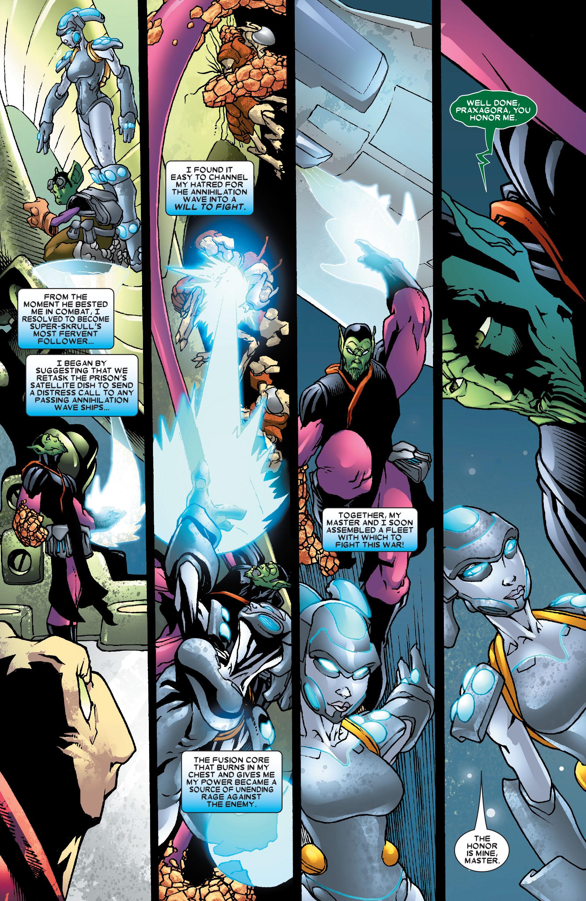 Read online Annihilation: Super-Skrull comic -  Issue #3 - 5