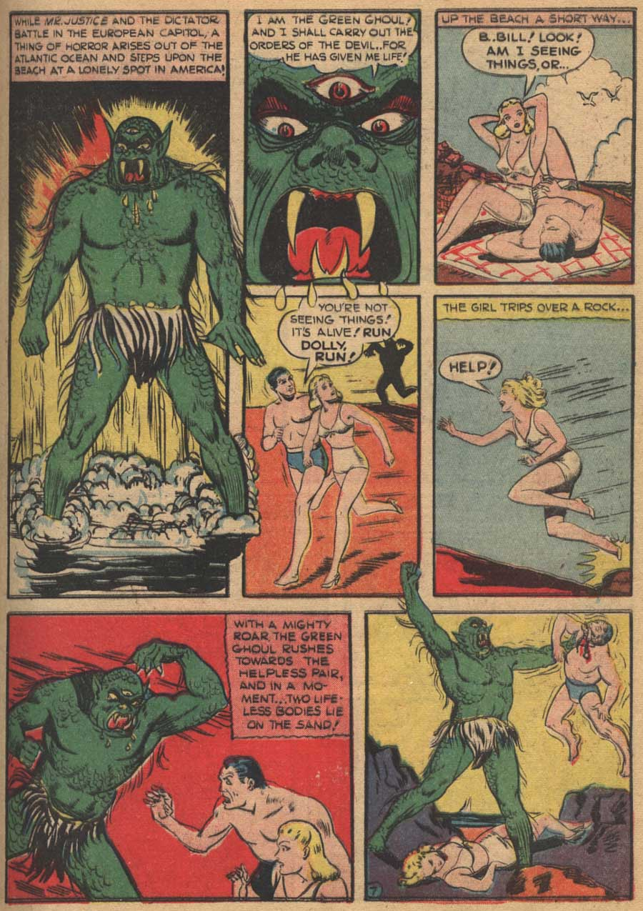 Blue Ribbon Comics (1939) issue 16 - Page 9