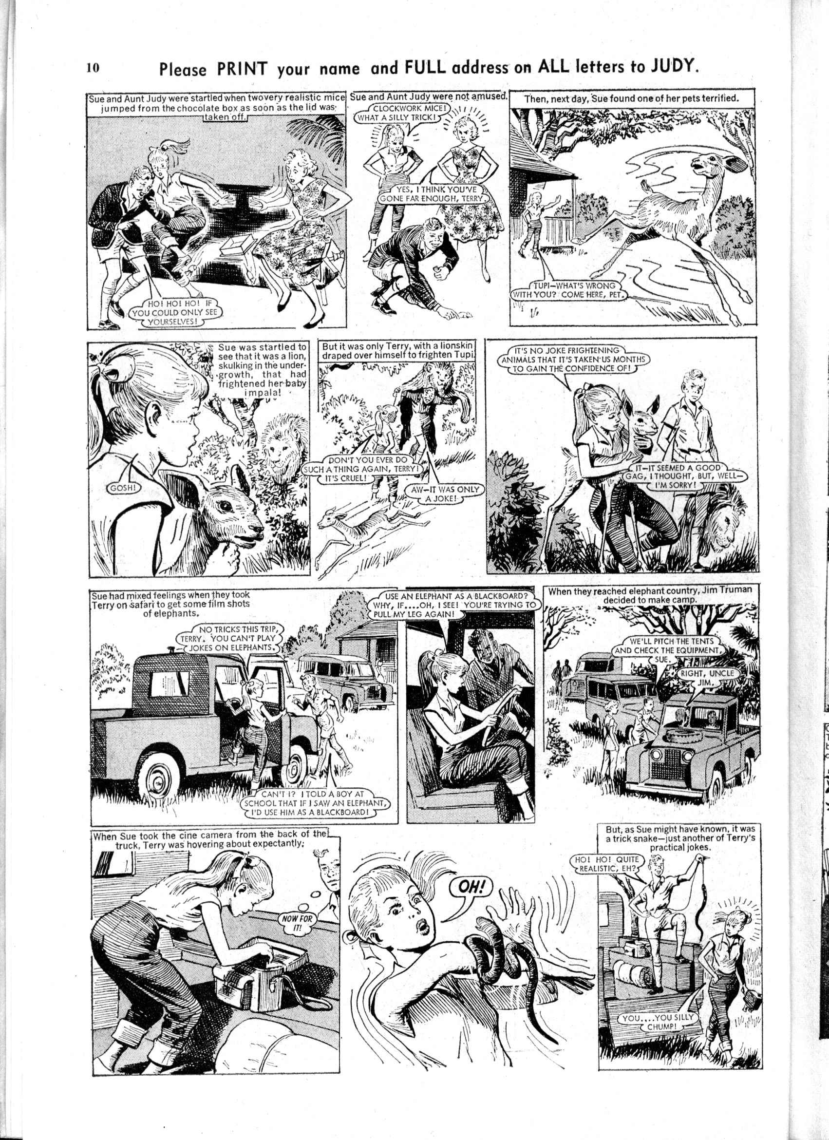 Read online Judy comic -  Issue #197 - 10