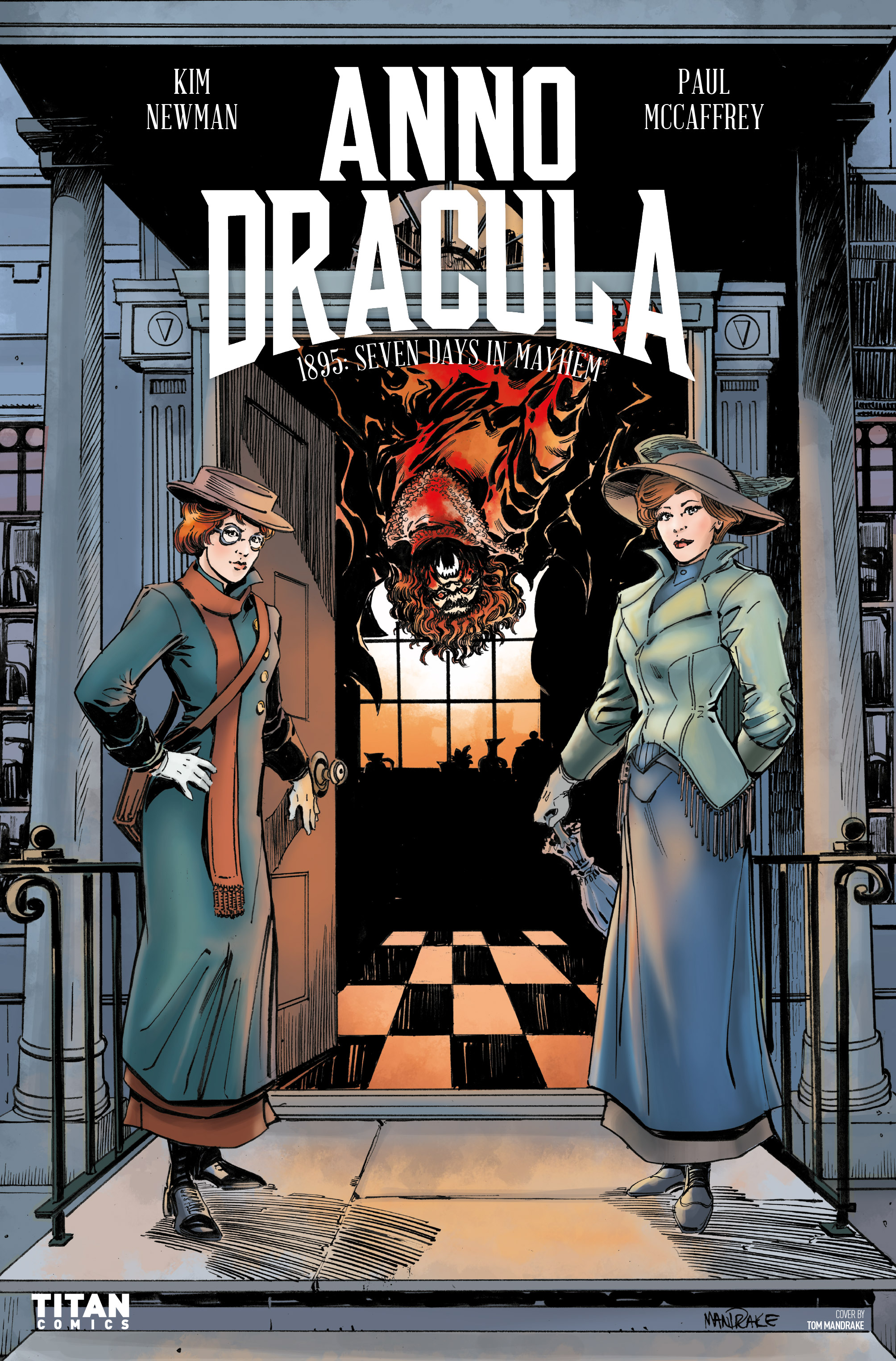 Read online Anno Dracula comic -  Issue #3 - 2