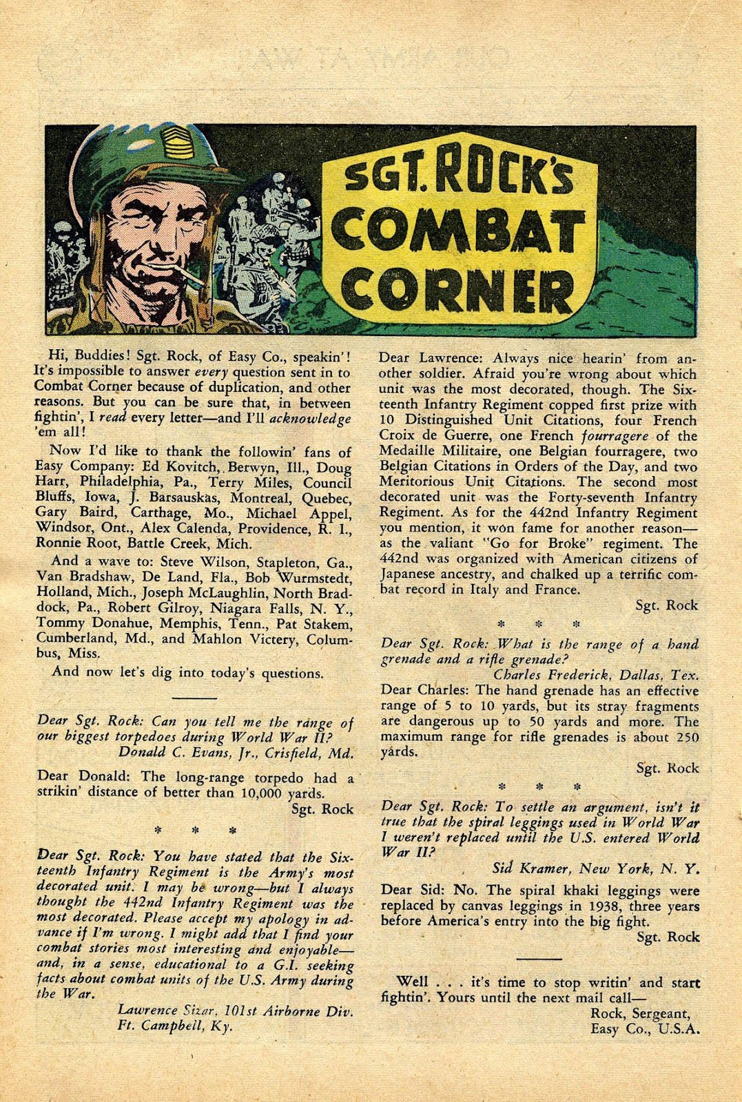 Our Army at War (1952) issue 99 - Page 18