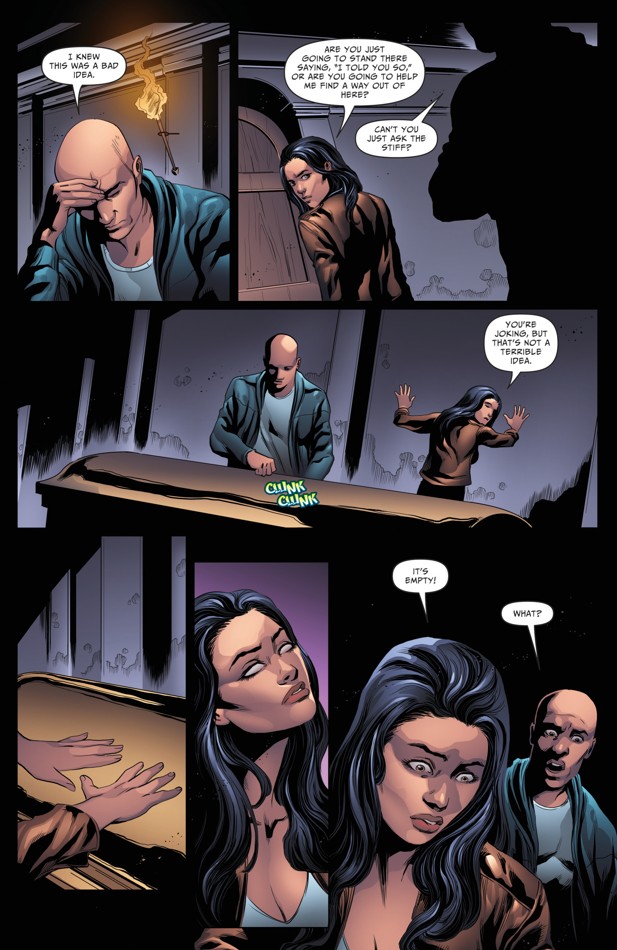 Read online Grimm Fairy Tales: Day of the Dead comic -  Issue #4 - 19