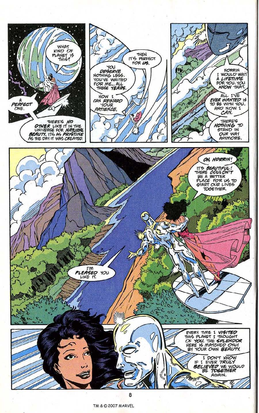 Read online Silver Surfer (1987) comic -  Issue # _Annual 4 - 10