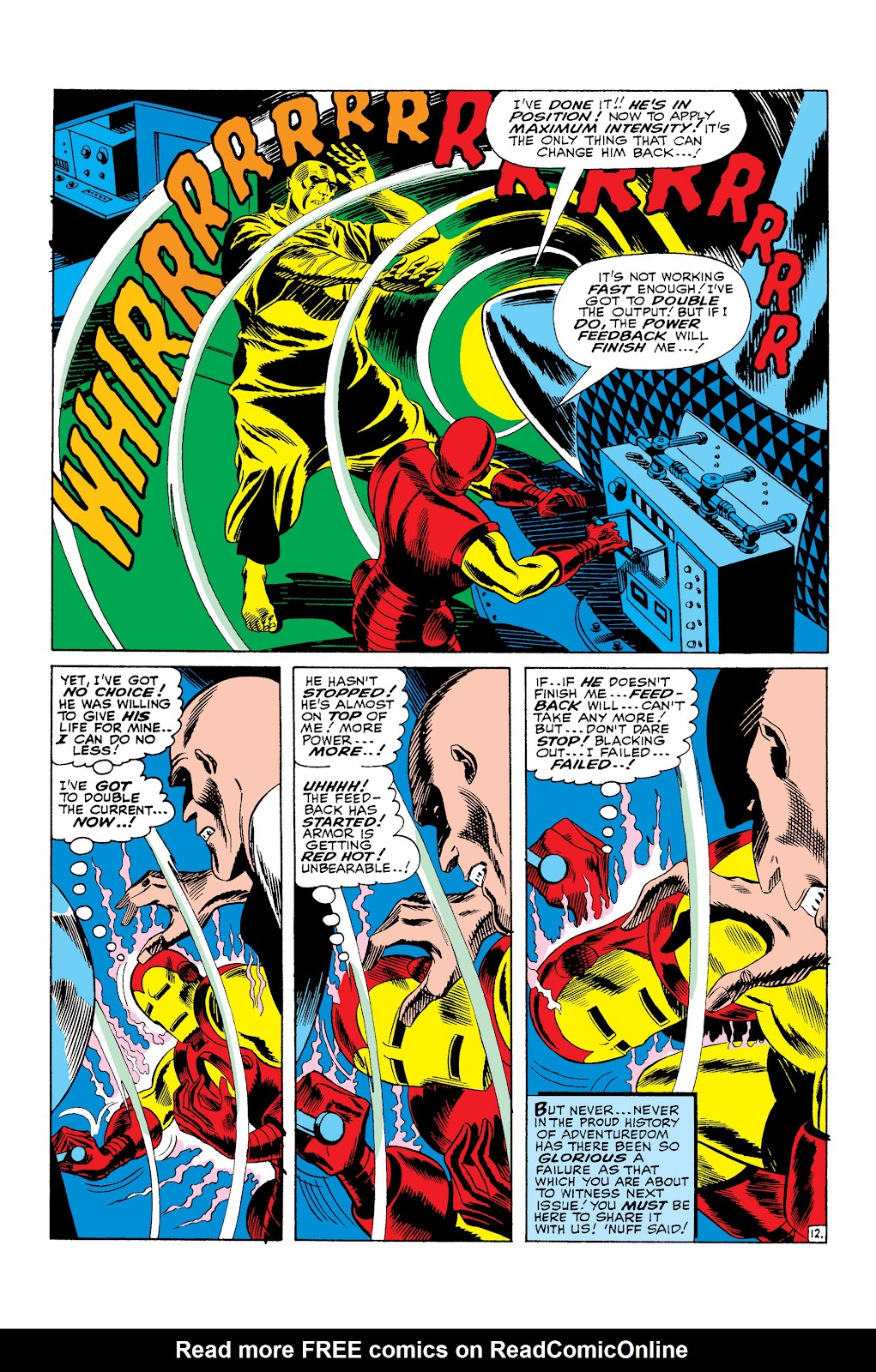 Read online Marvel Masterworks: The Invincible Iron Man comic -  Issue # TPB 3 (Part 3) - 22