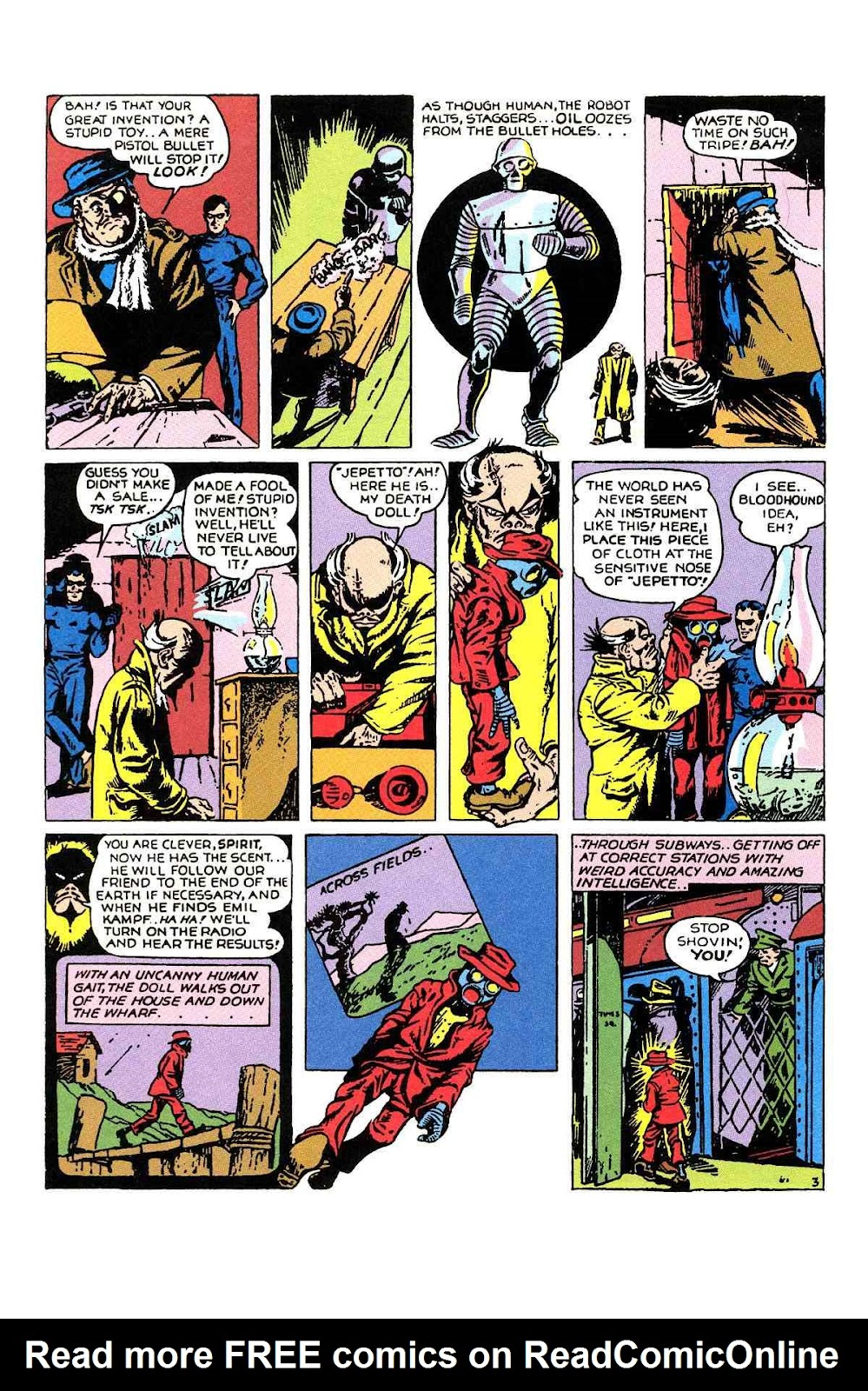 Read online Will Eisner's The Spirit Archives comic -  Issue # TPB 1 (Part 1) - 67