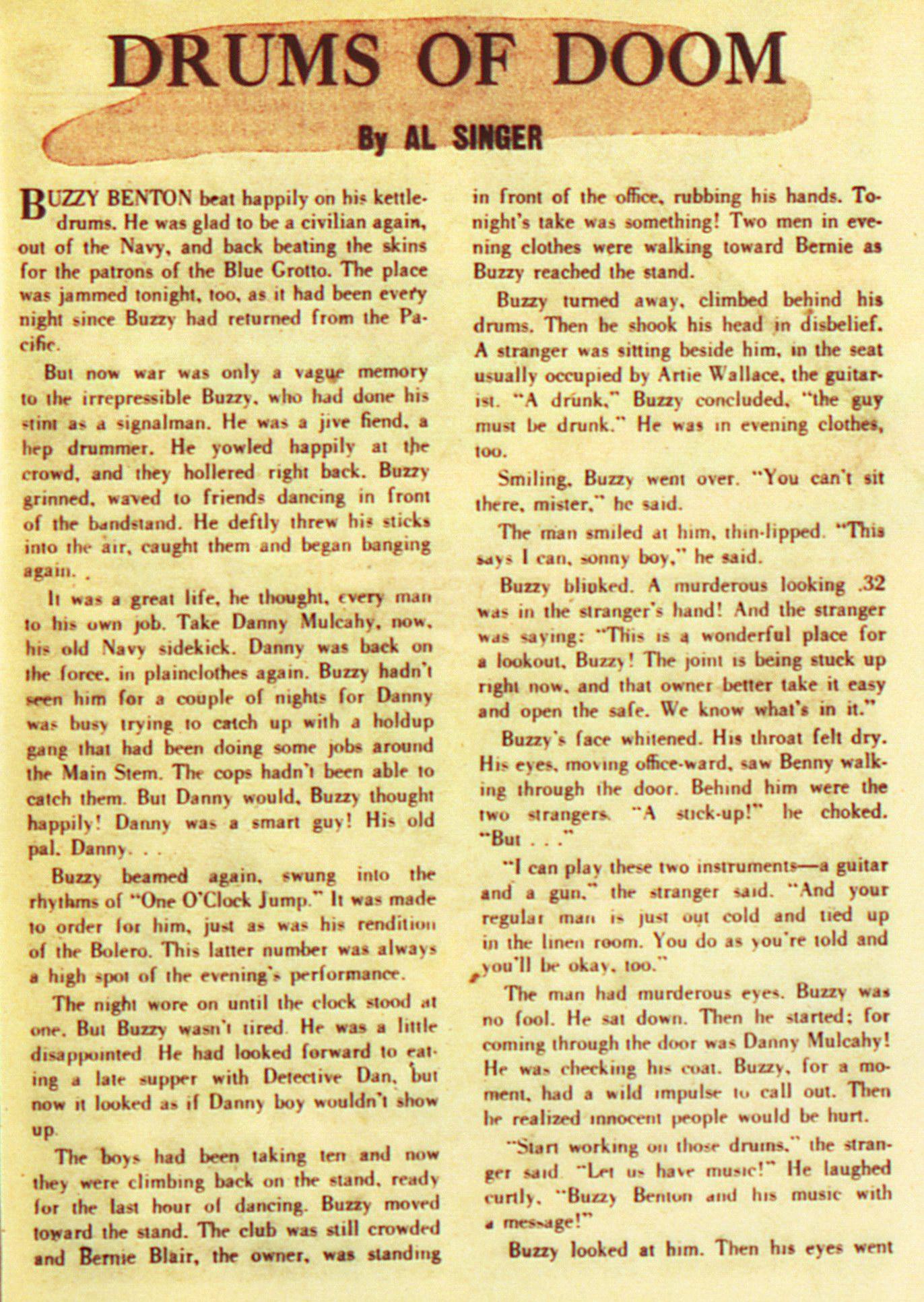 Read online Adventure Comics (1938) comic -  Issue #105 - 39