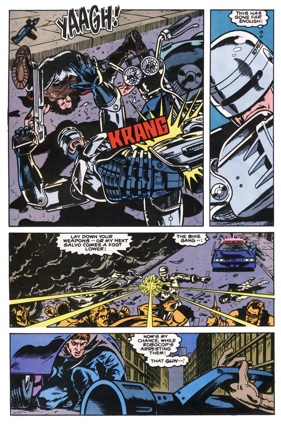 Read online Robocop (1990) comic -  Issue #10 - 20