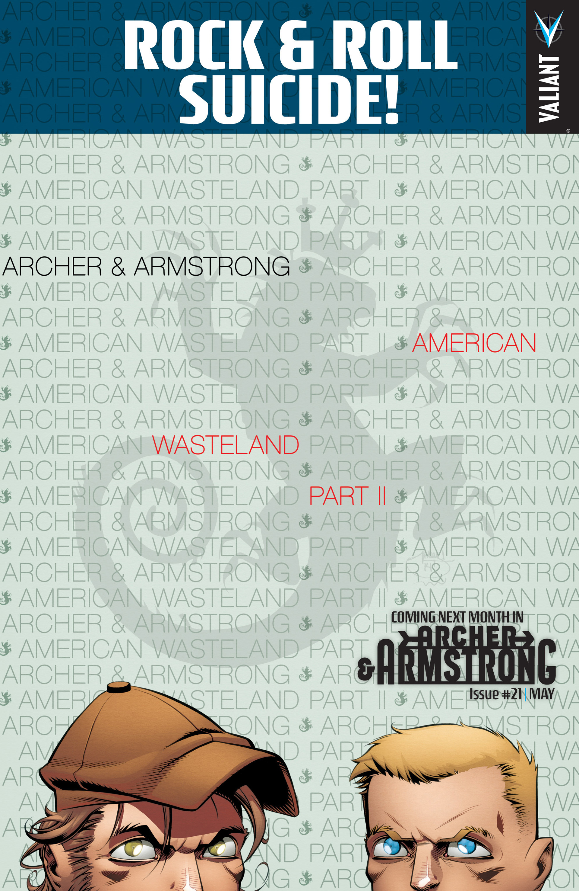 Read online Archer and Armstrong comic -  Issue #20 - 22