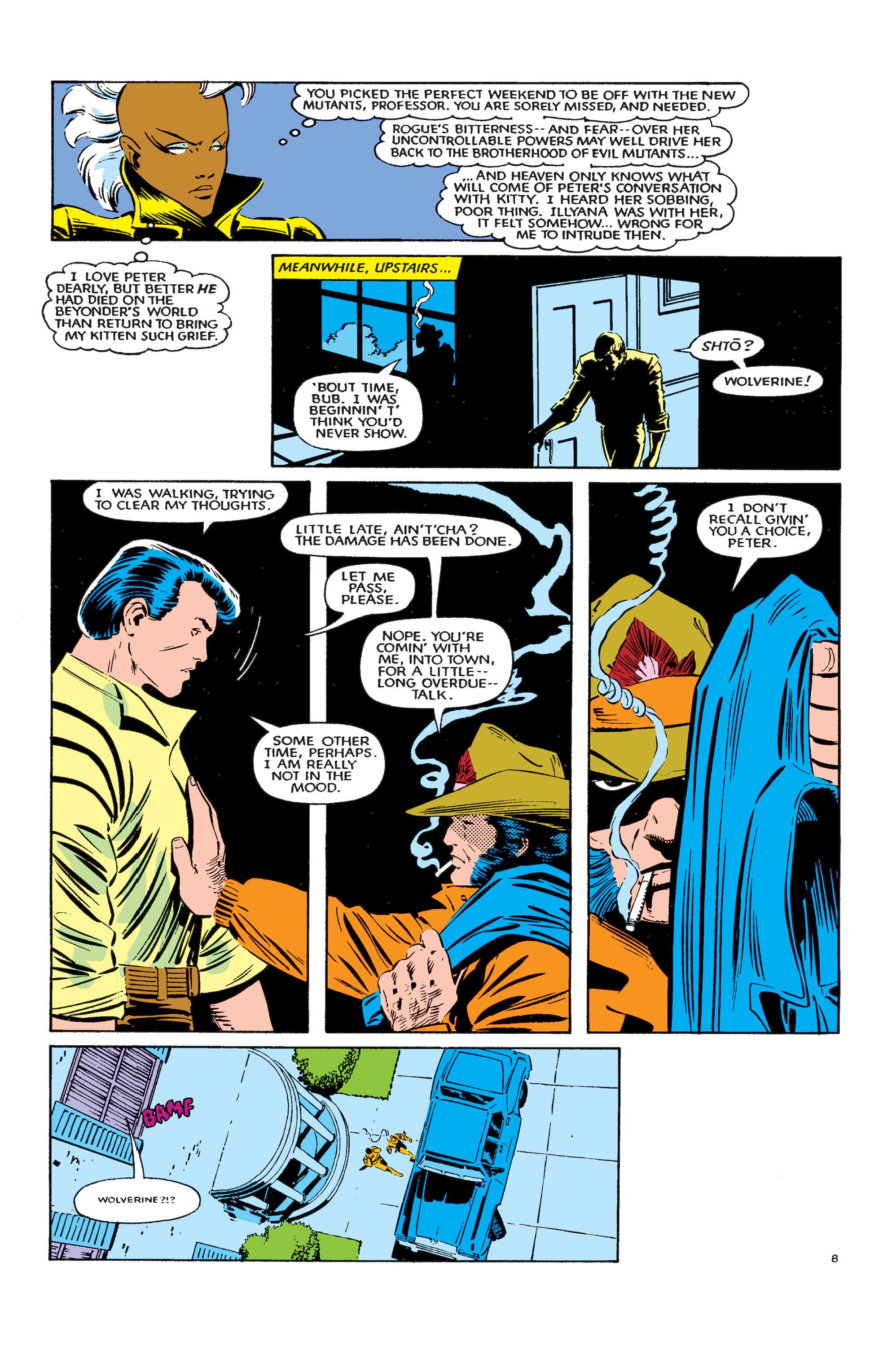 Read online Uncanny X-Men (1963) comic -  Issue #183 - 9