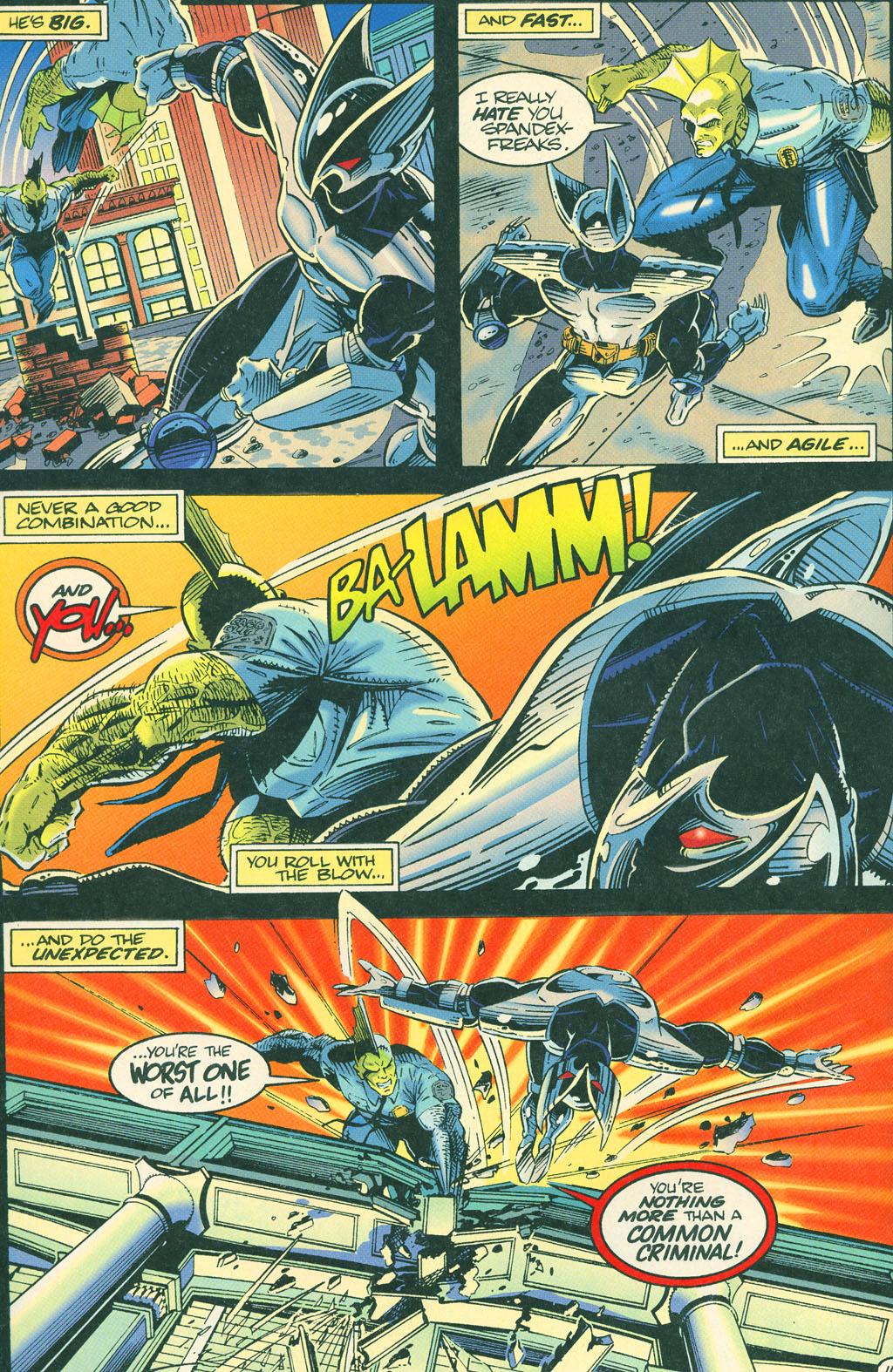 Read online ShadowHawk comic -  Issue #4 - 18