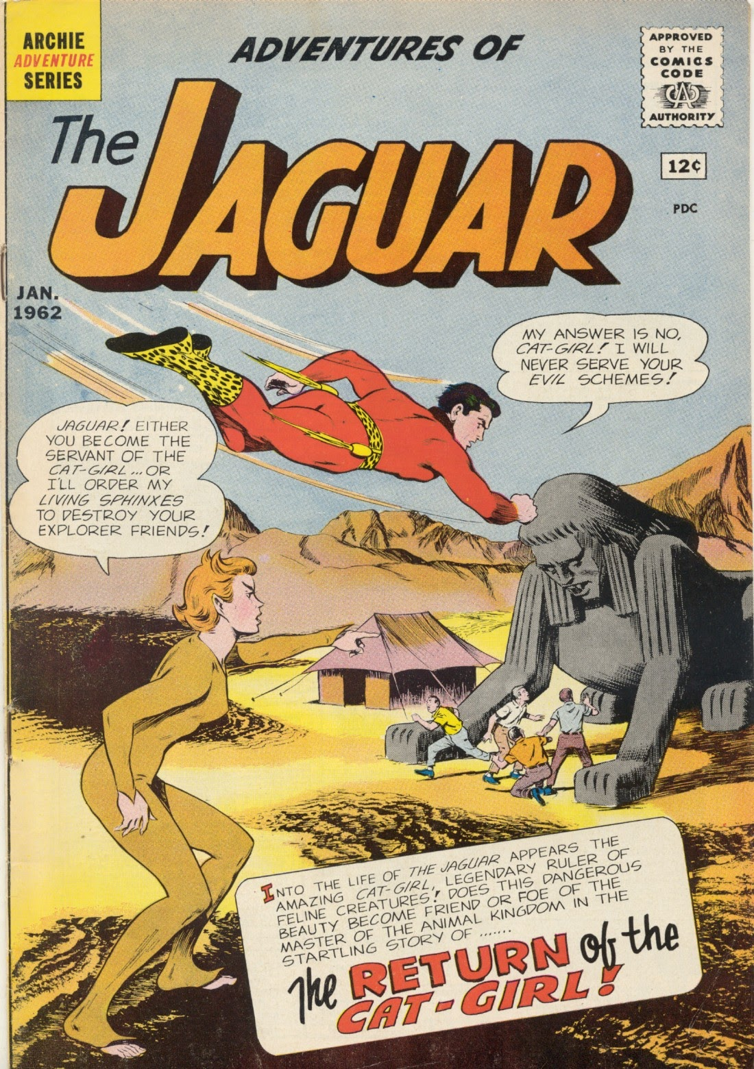 Adventures of the Jaguar issue 4 - Page 1