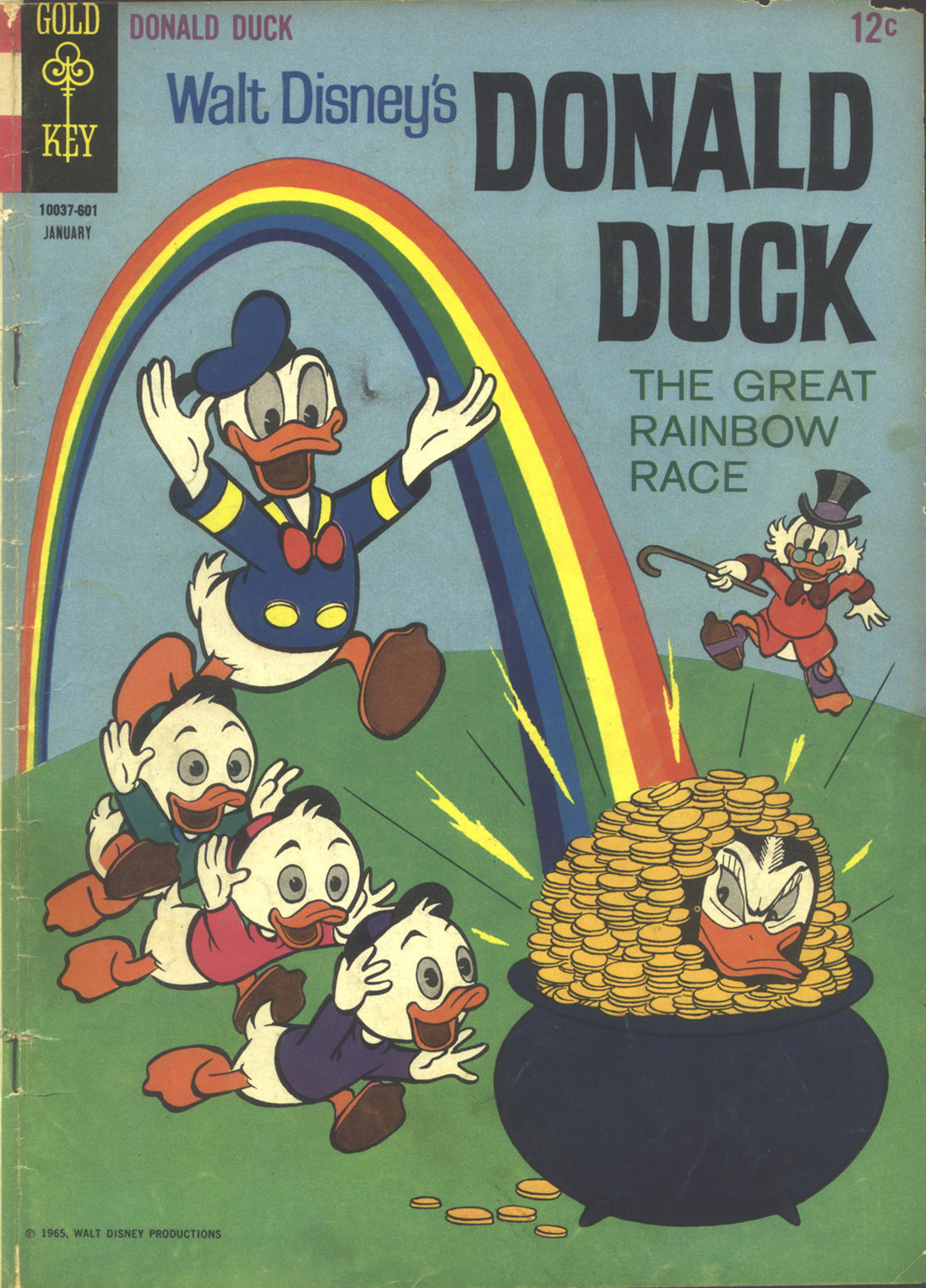 Walt Disney's Donald Duck (1952) issue 105 - Page 1