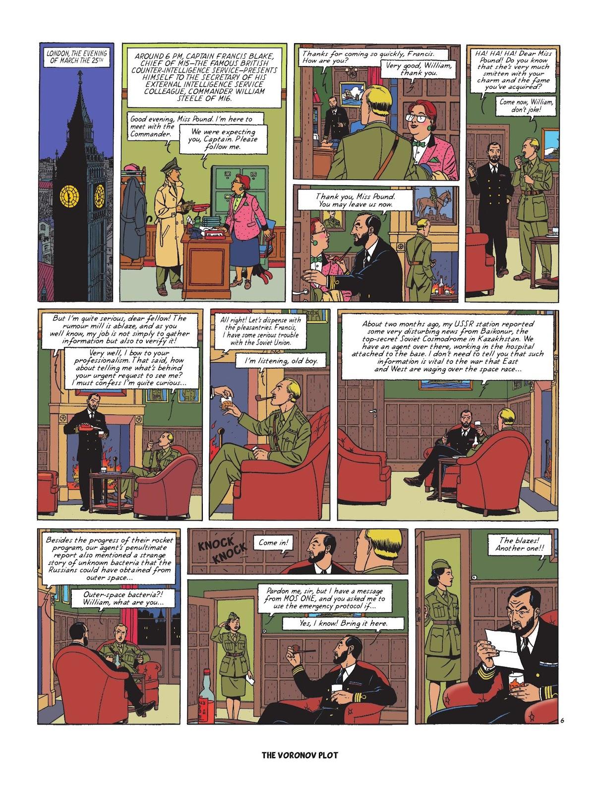 Read online Blake & Mortimer comic -  Issue #25 - 63