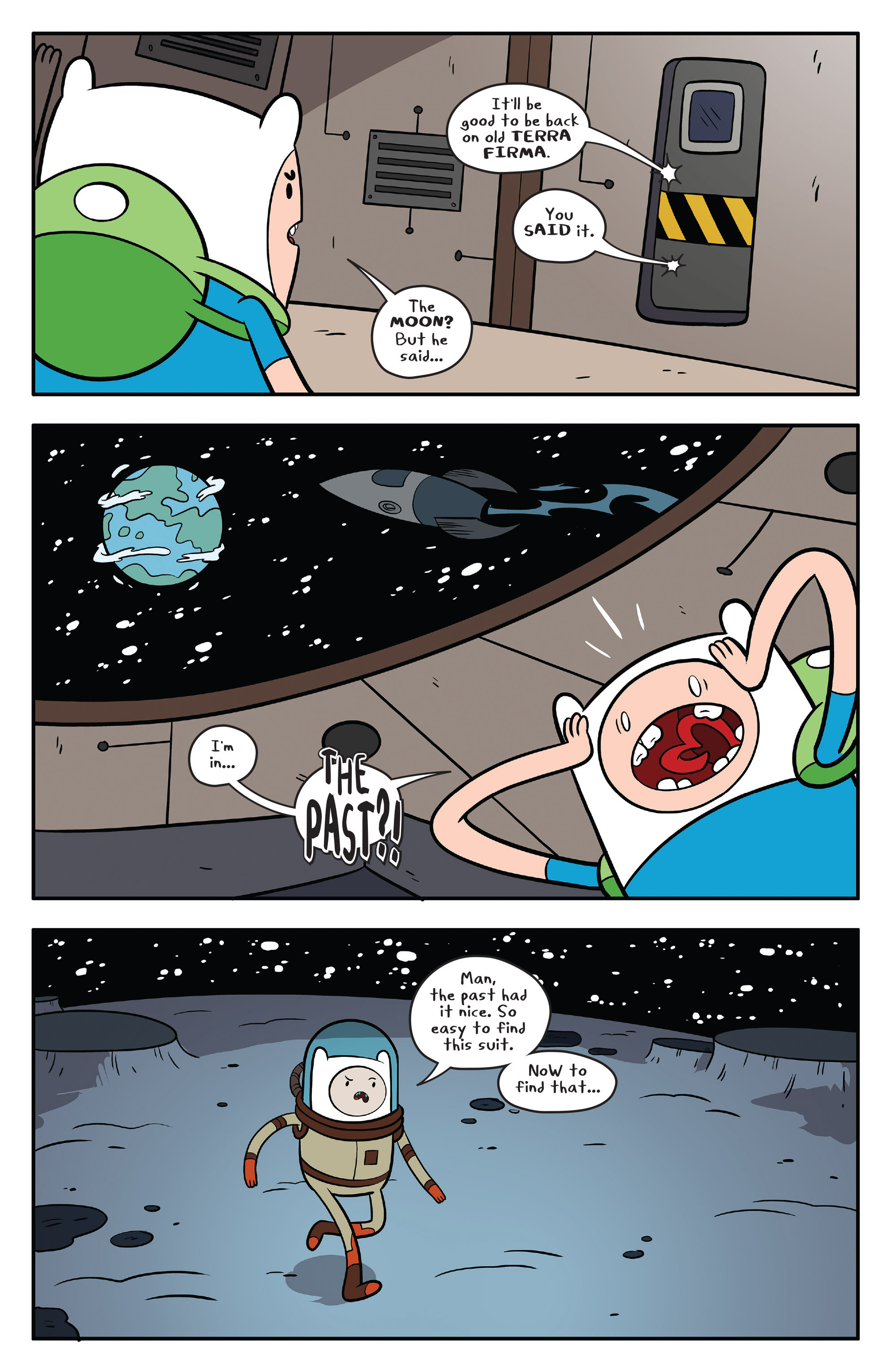 Read online Adventure Time comic -  Issue #59 - 22