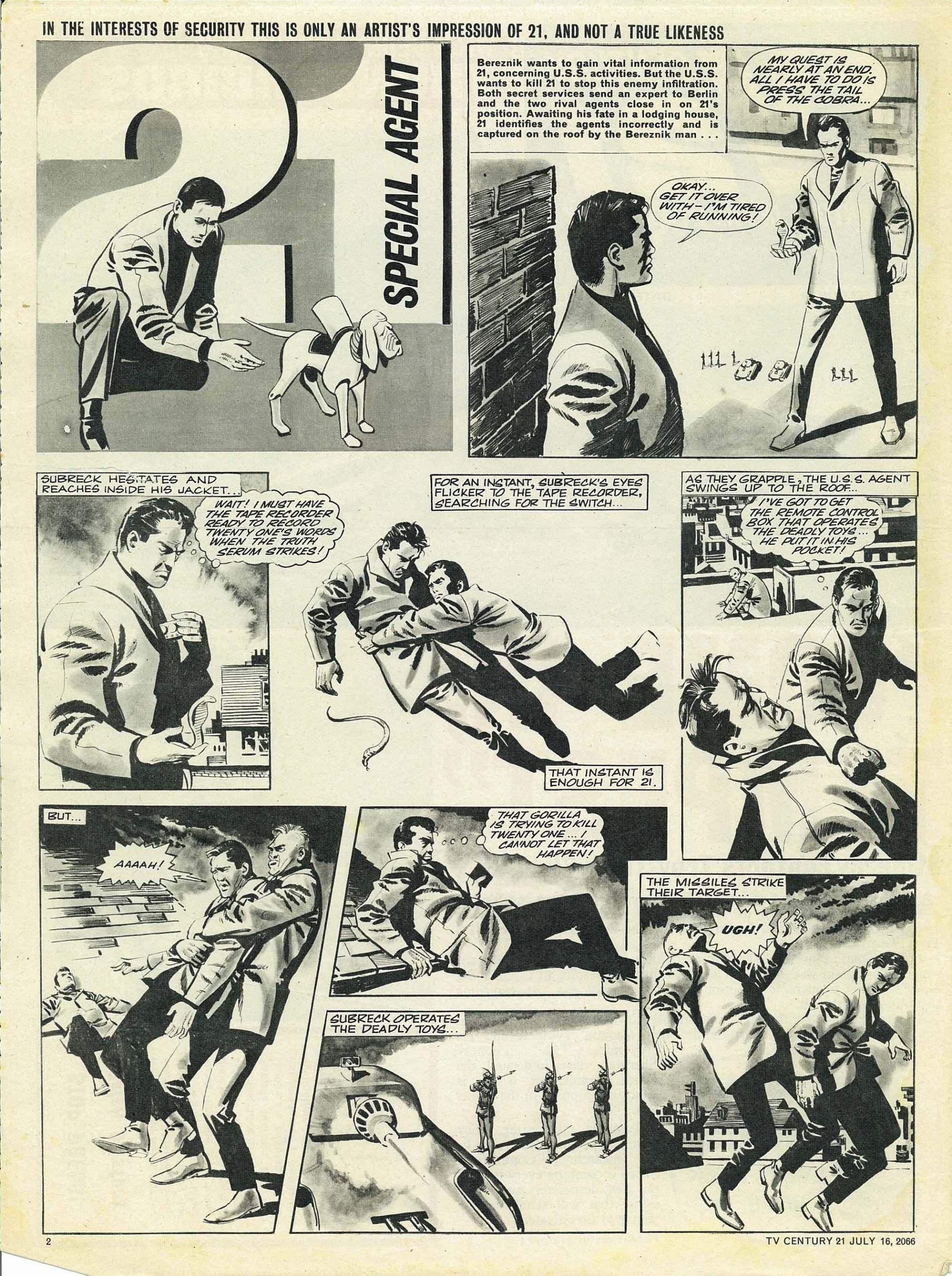 Read online TV Century 21 (TV 21) comic -  Issue #78 - 2