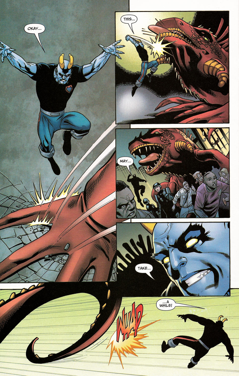 Read online Shadowpact comic -  Issue #4 - 21