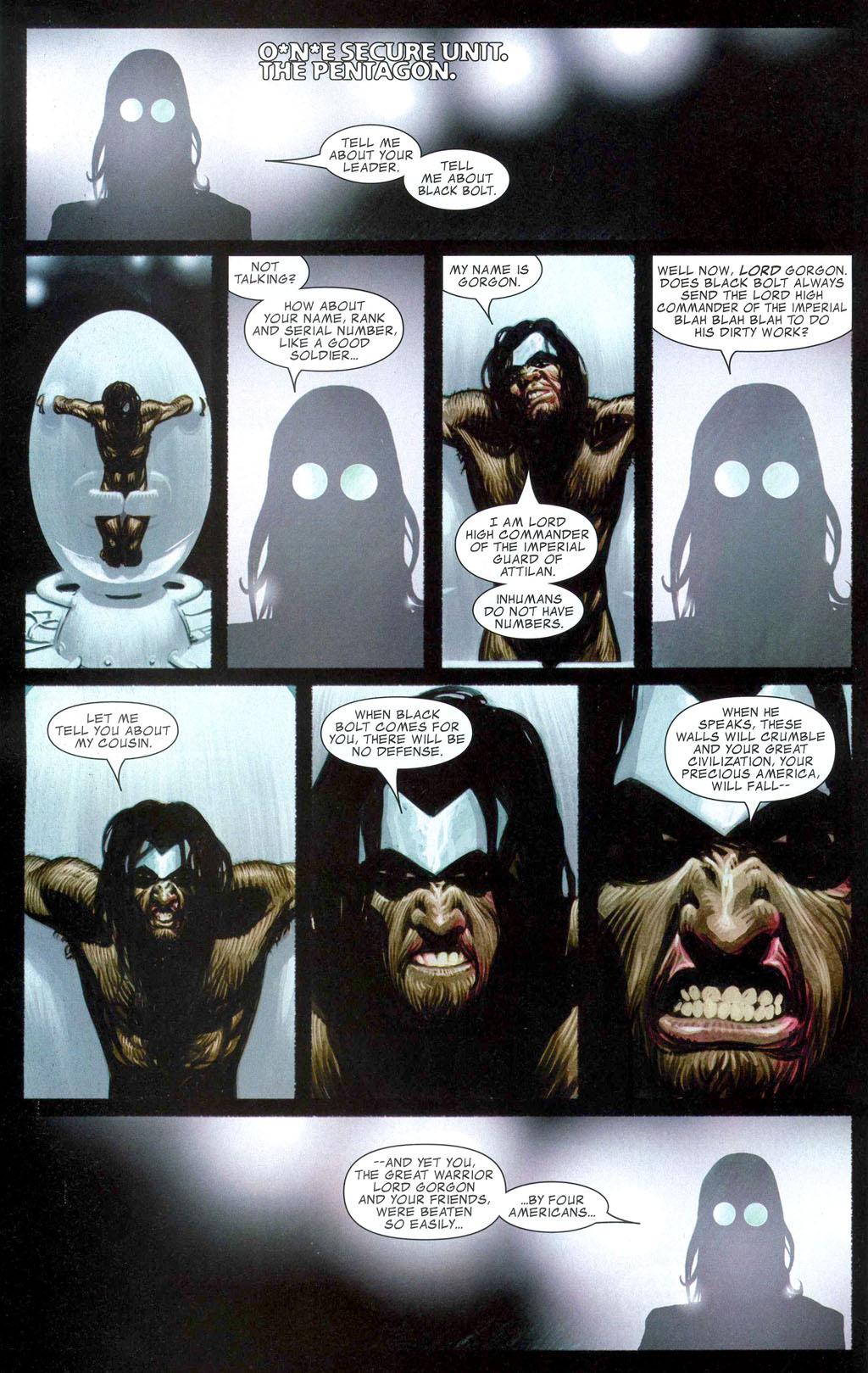 Read online Silent War comic -  Issue #1 - 16