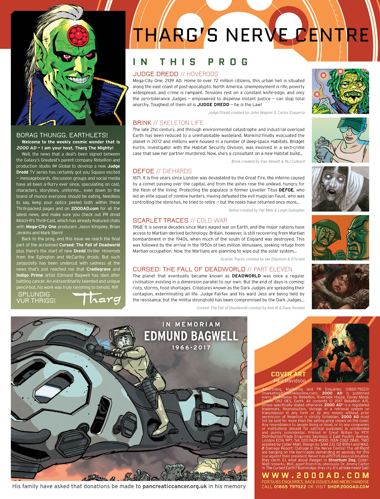 Read online 2000 AD comic -  Issue #2033 - 2