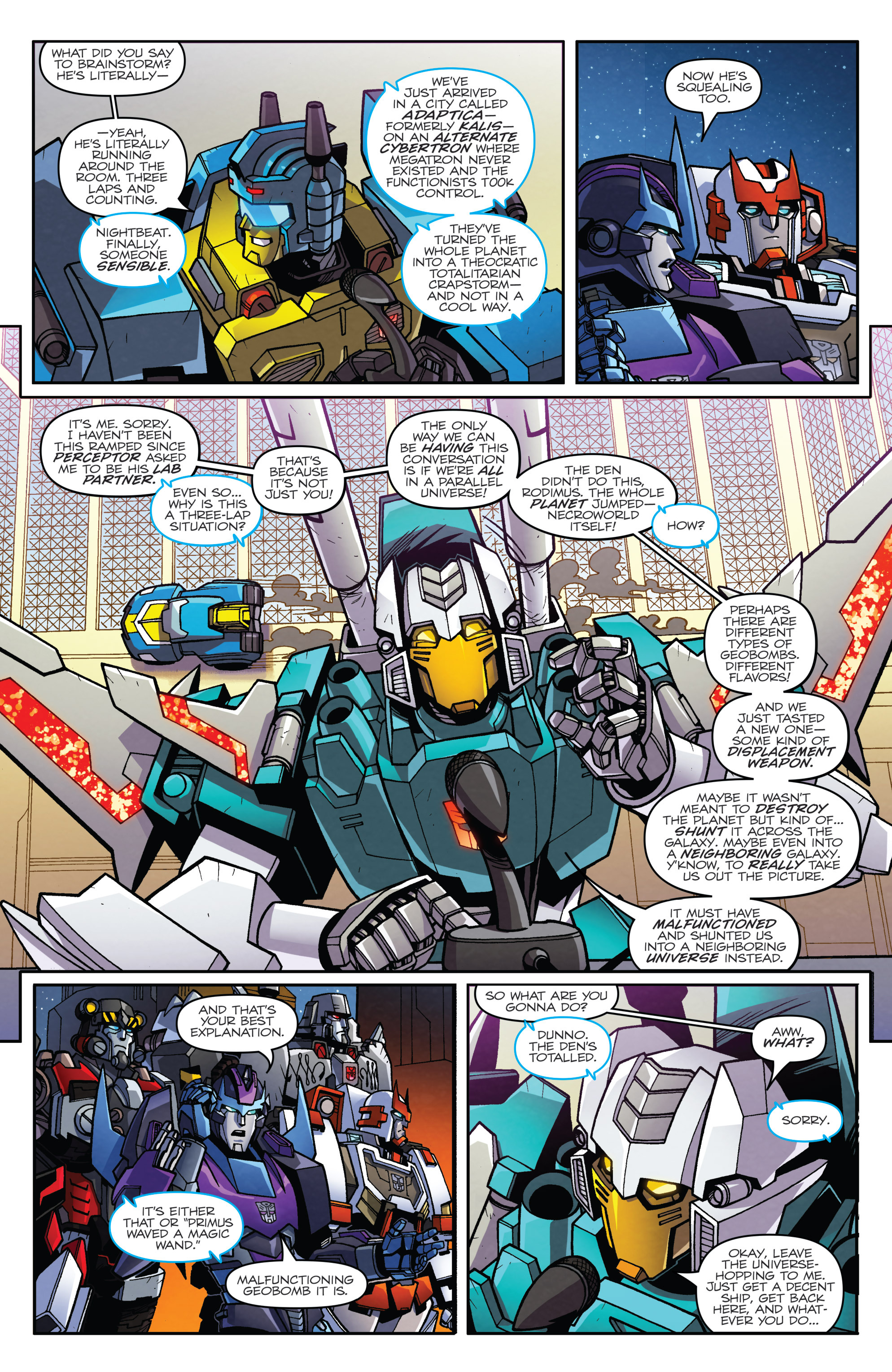 Read online Transformers: Lost Light comic -  Issue #3 - 6