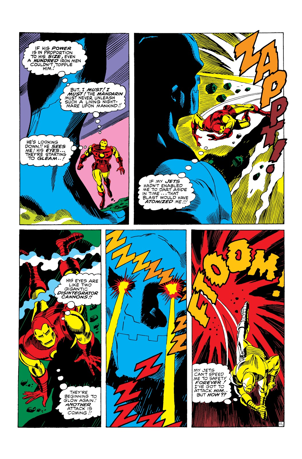 Read online Marvel Masterworks: The Invincible Iron Man comic -  Issue # TPB 3 (Part 3) - 67