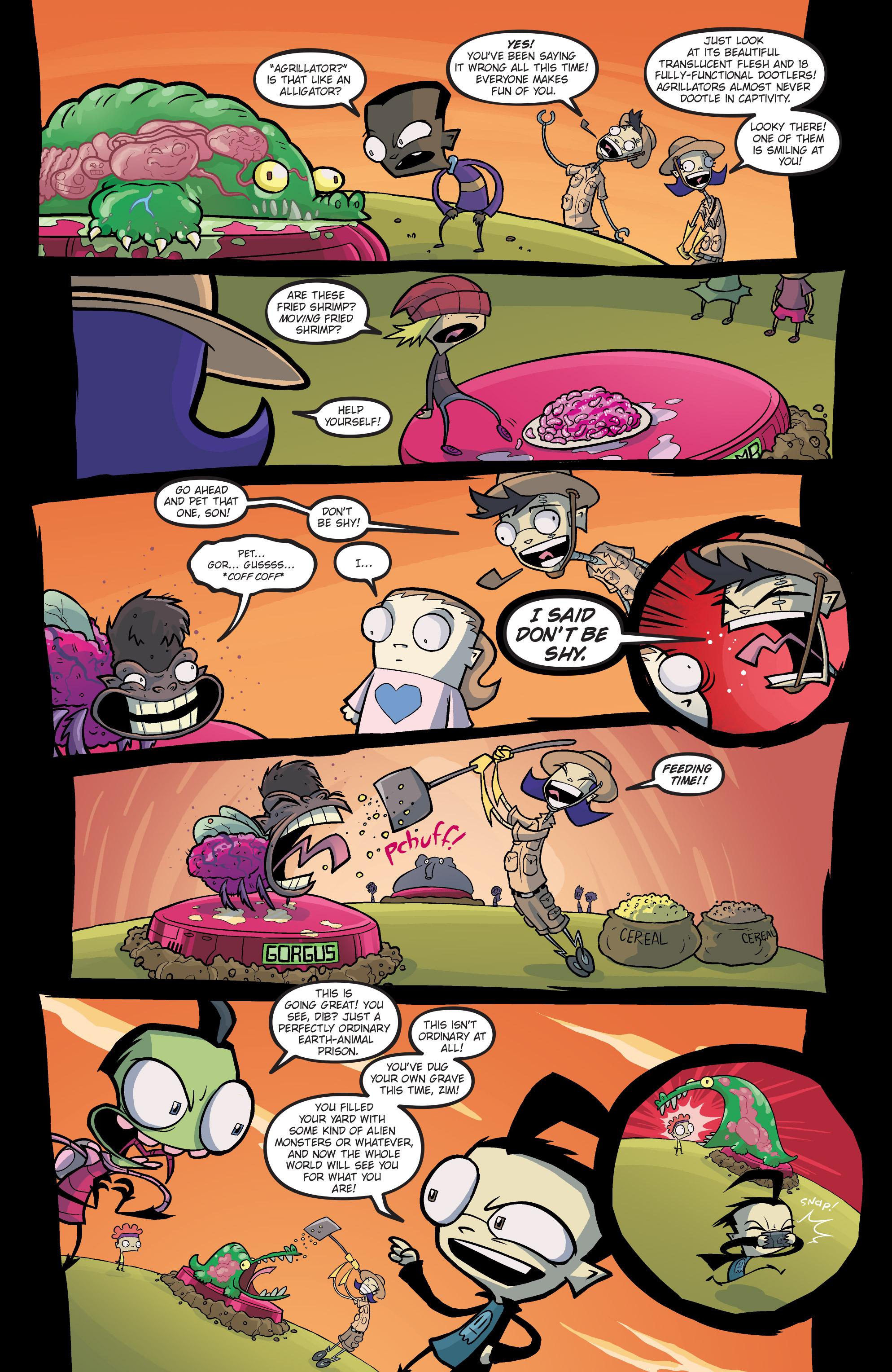 Read online Invader Zim comic -  Issue #19 - 9