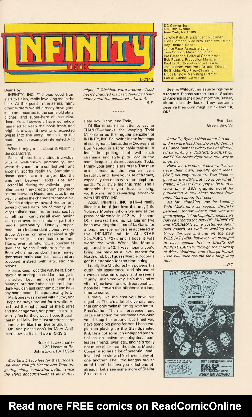 Infinity Inc. (1984) issue 20 - Page 33