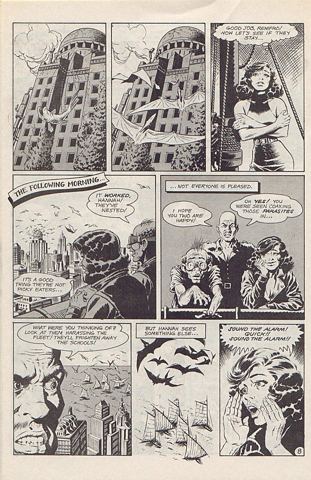 Read online Xenozoic Tales comic -  Issue #1 - 23