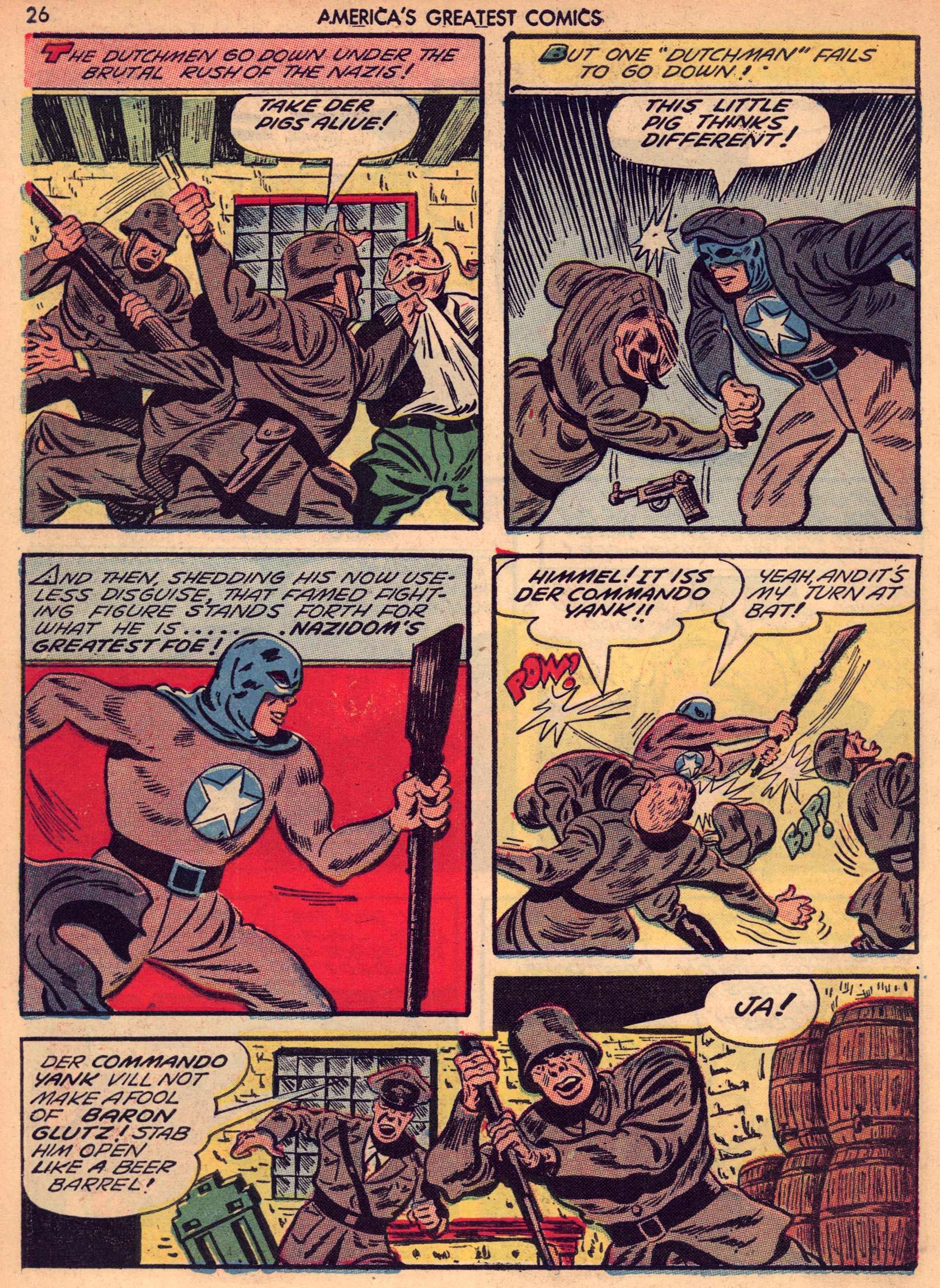 Read online America's Greatest Comics comic -  Issue #7 - 25