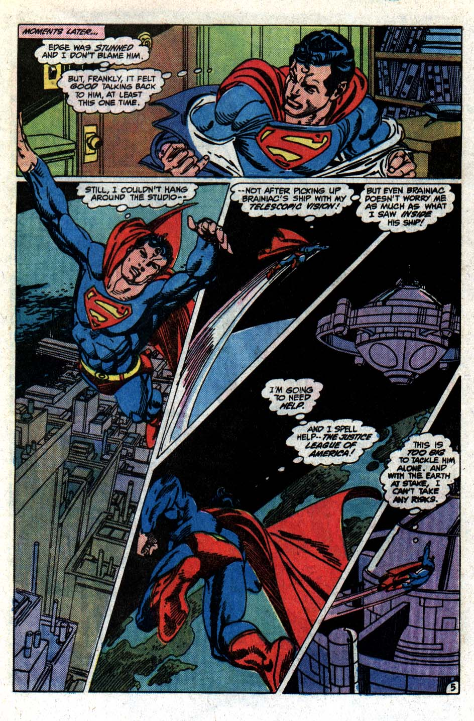 Read online Action Comics (1938) comic -  Issue #546 - 6