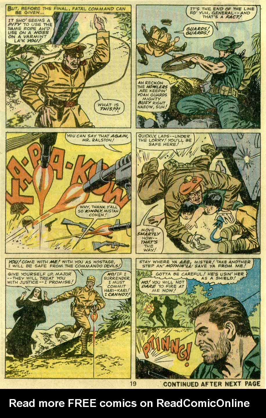 Read online Sgt. Fury comic -  Issue #125 - 21